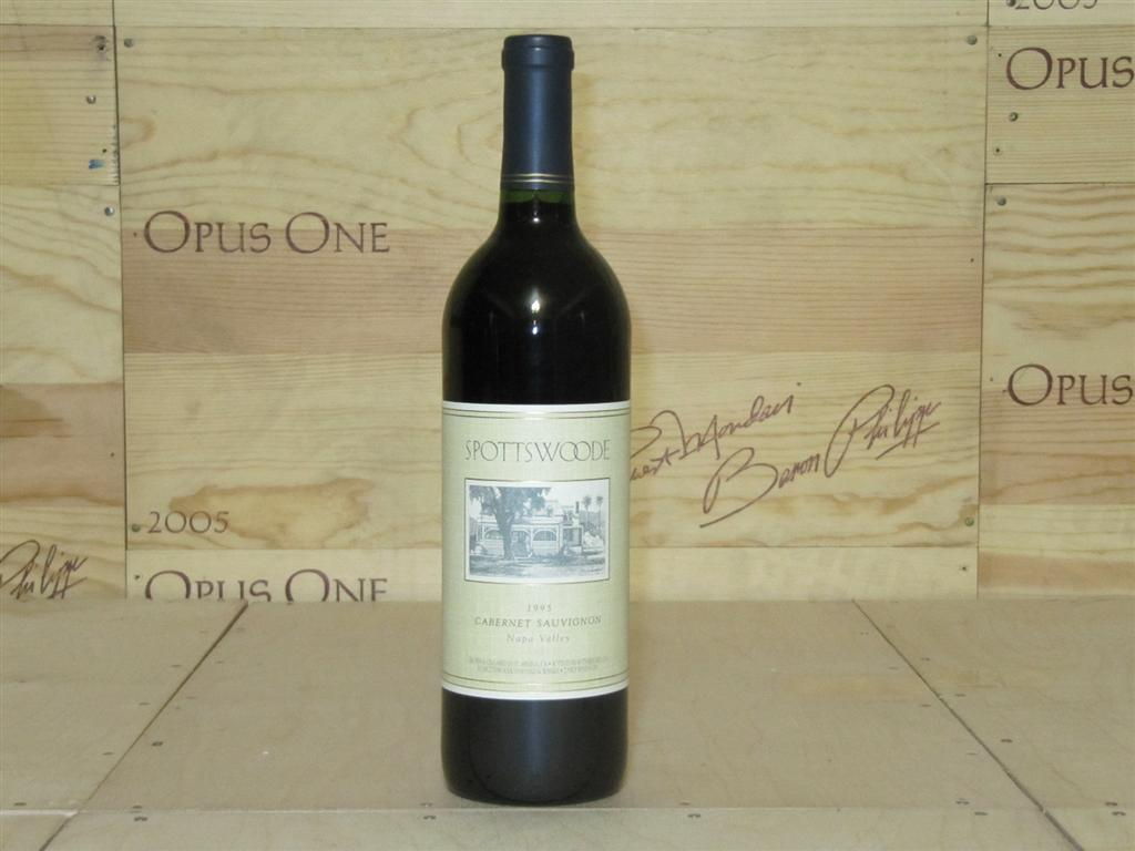 1995 Spottswoode Family Estate Grown Cabernet Sauvignon RP--92-95 WS--92