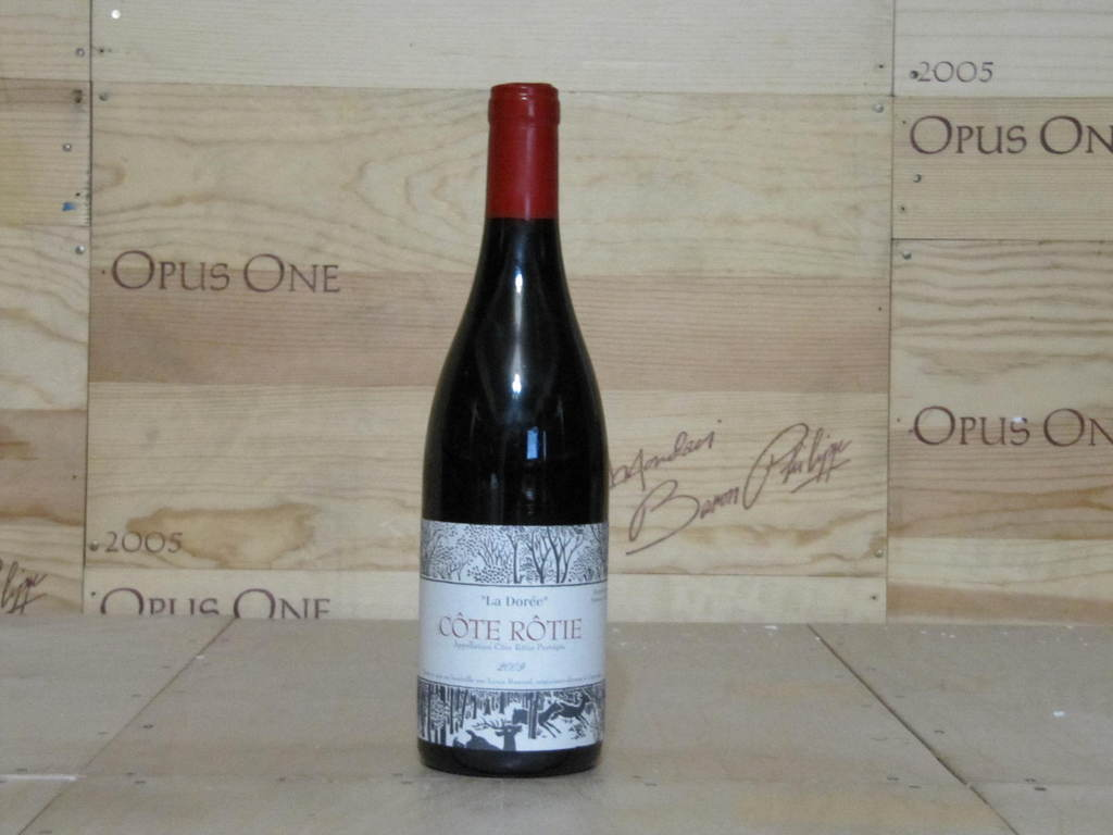 2009 Louis Cherry Barruol Cote-Rotie La Doree WS--93