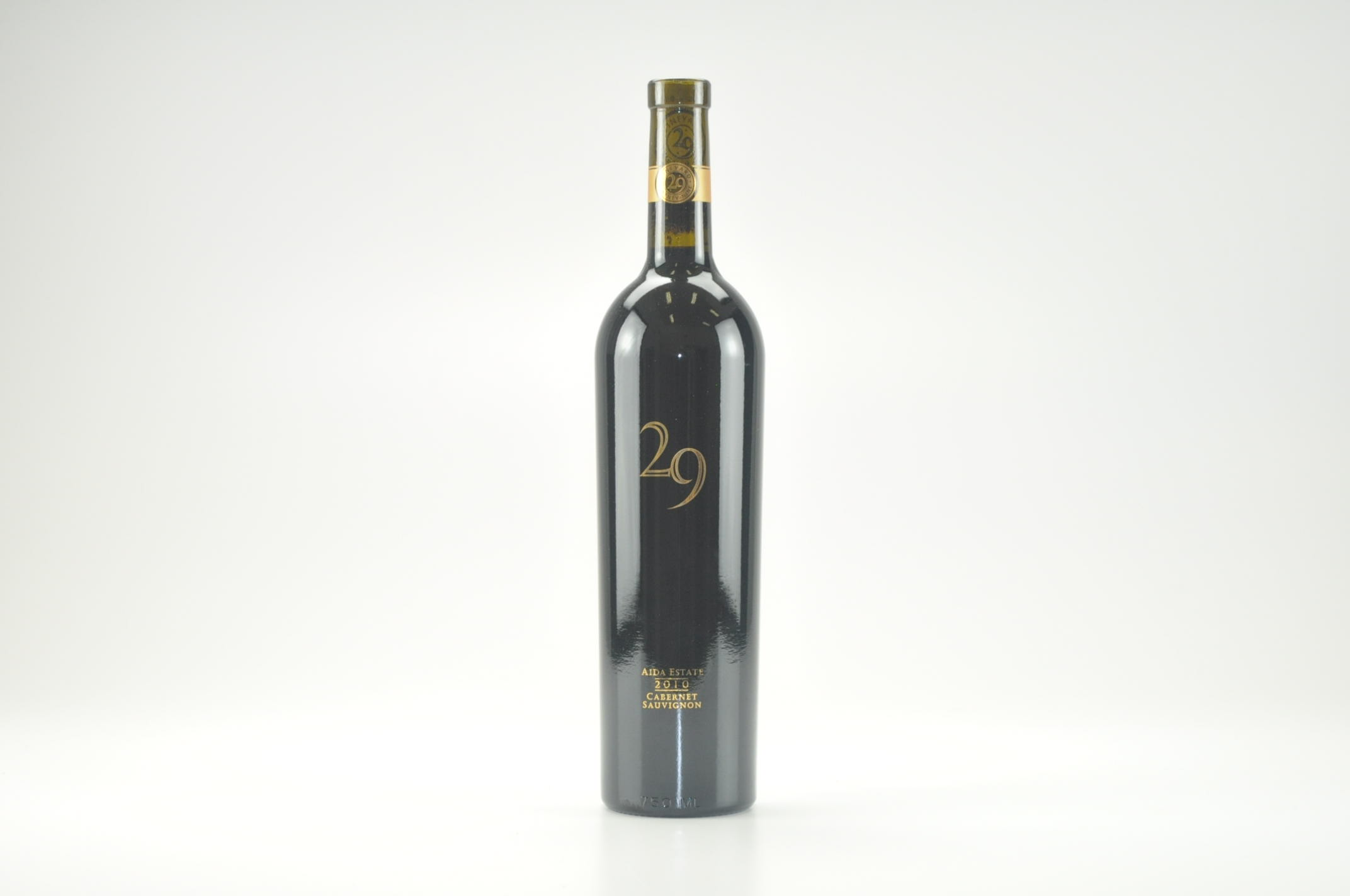 2010 Vineyard 29 Cabernet Sauvignon Aida Estate Vineyard RP--95