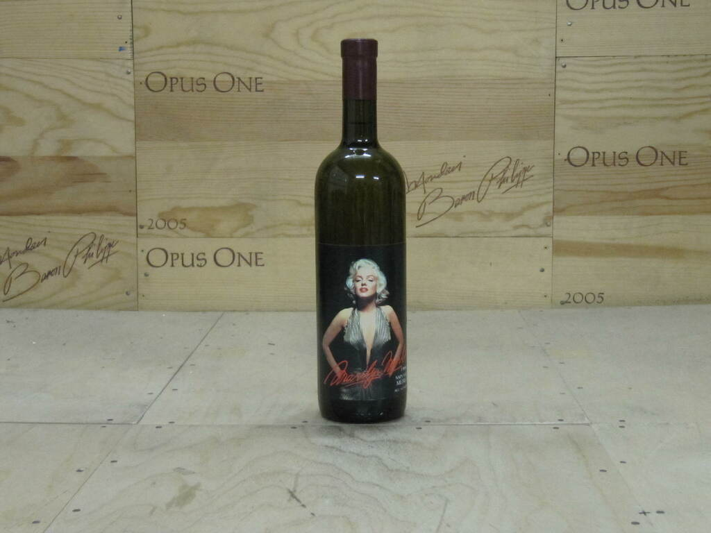 1985 Marilyn Merlot Wine-- Filled With 100% Napa Valley Water