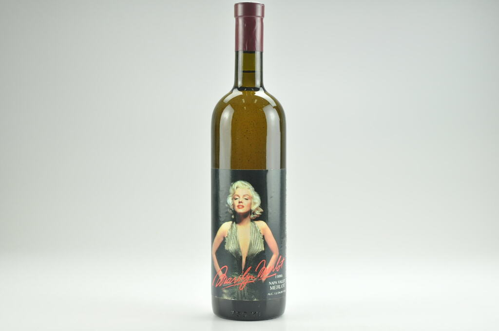 1986 Marilyn Merlot Wine-- Filled With 100% Napa Valley Water