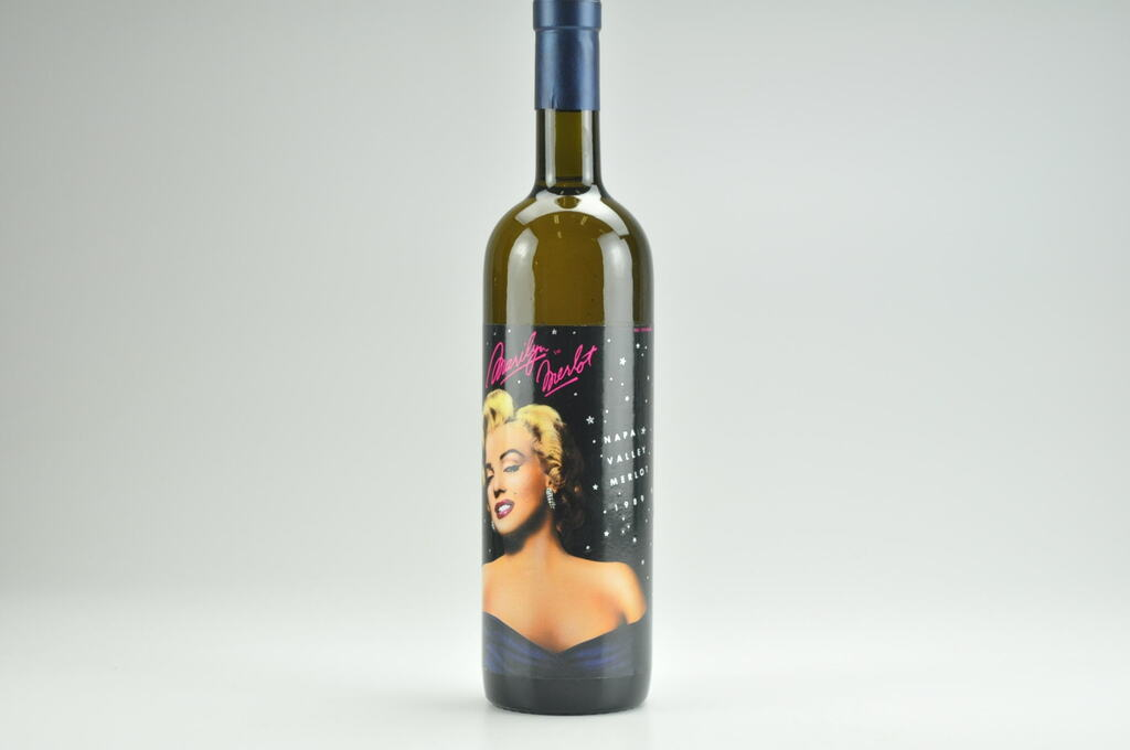 1989 Marilyn Merlot Wine-- Filled With 100% Napa Valley Water