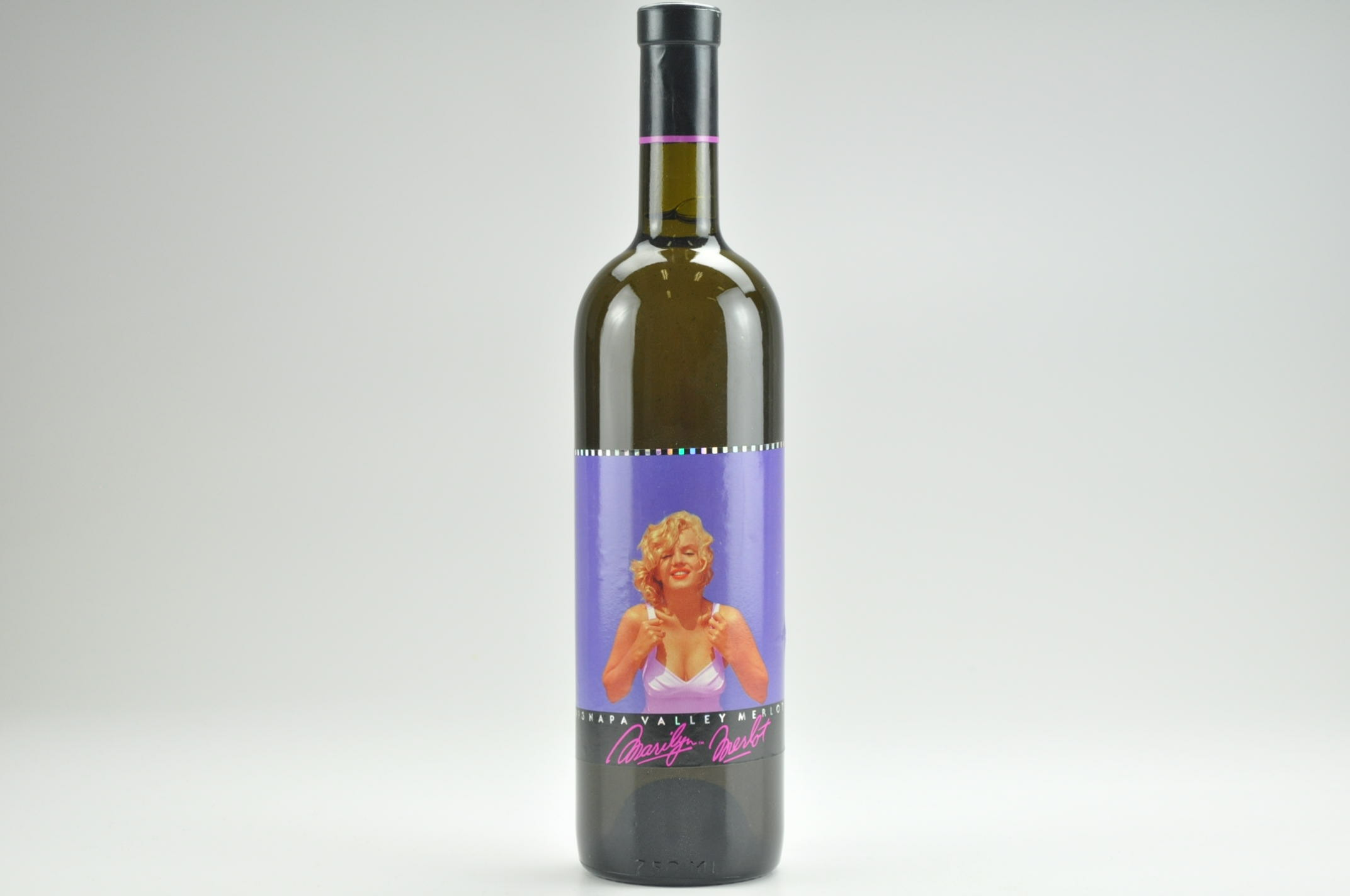 1993 Marilyn Merlot Wine-- Filled With 100% Napa Valley Water