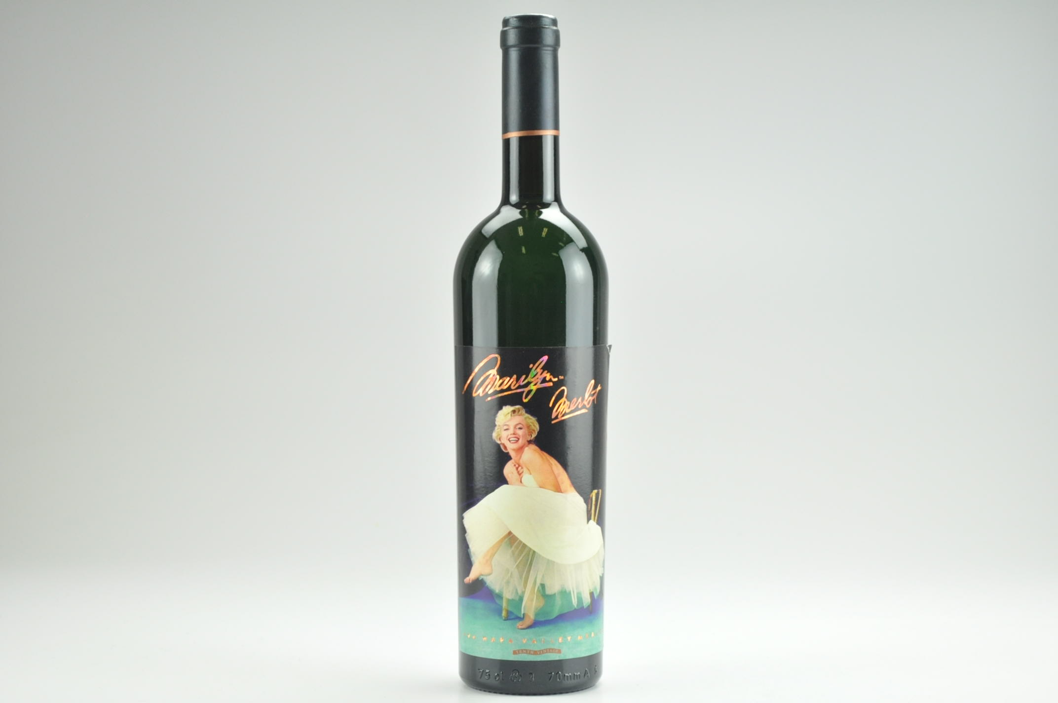 1994 Marilyn Merlot Wine-- Filled With 100% Napa Valley Water