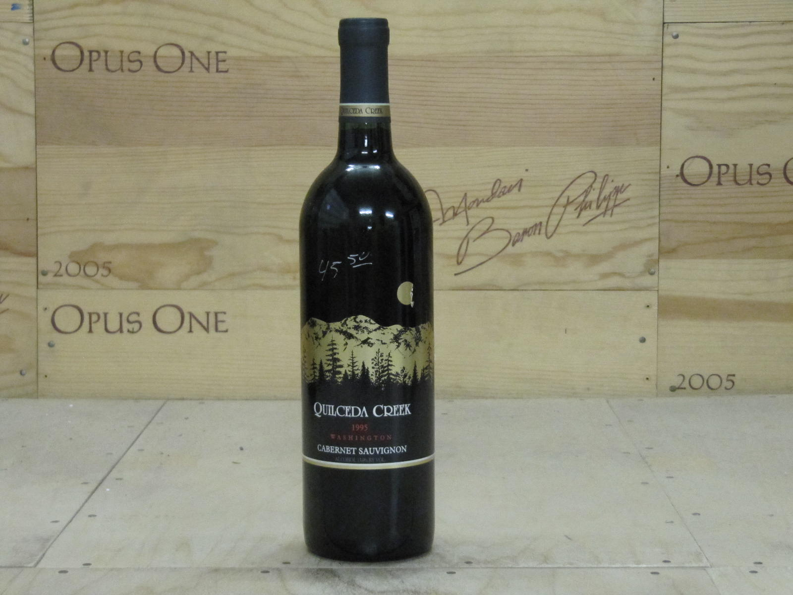 1995 Quilceda Creek Cabernet Sauvignon, Columbia Valley RP--92