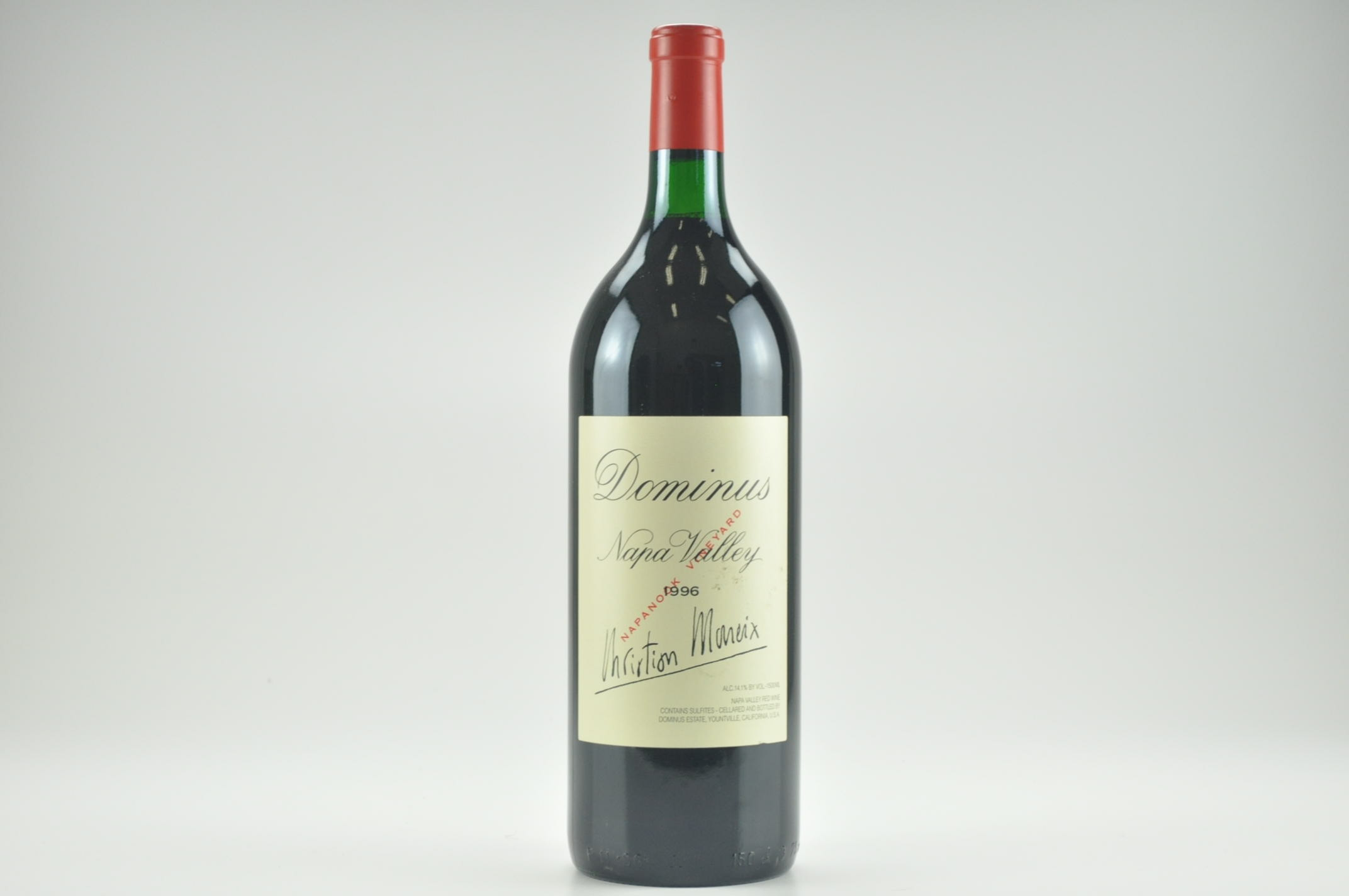 1996 Dominus Proprietary Red Wine 1.5 L, Napa Valley RP--95