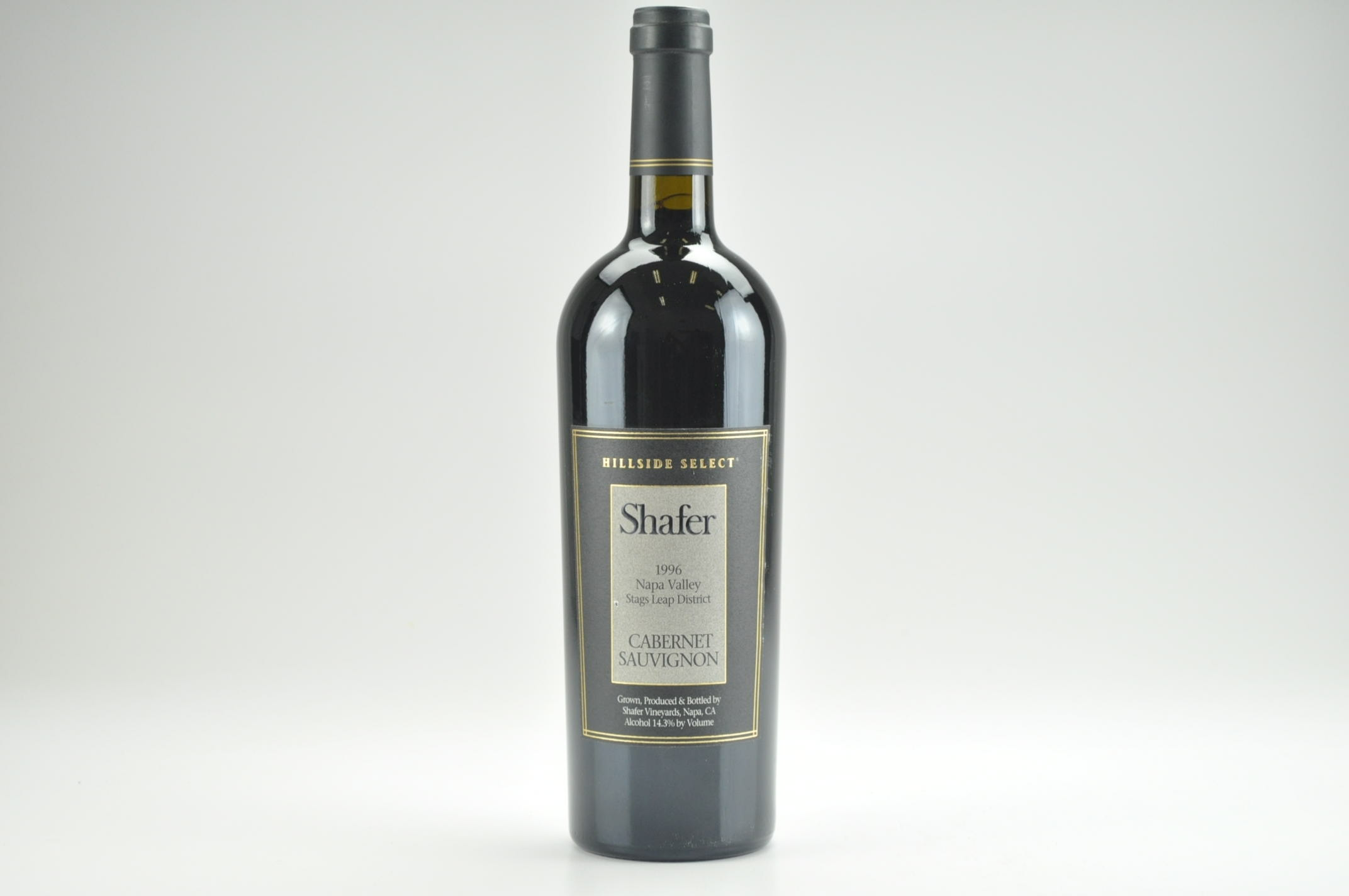 1995 Shafer Cabernet Sauvignon Hillside Select, Stags Leap District RP--98