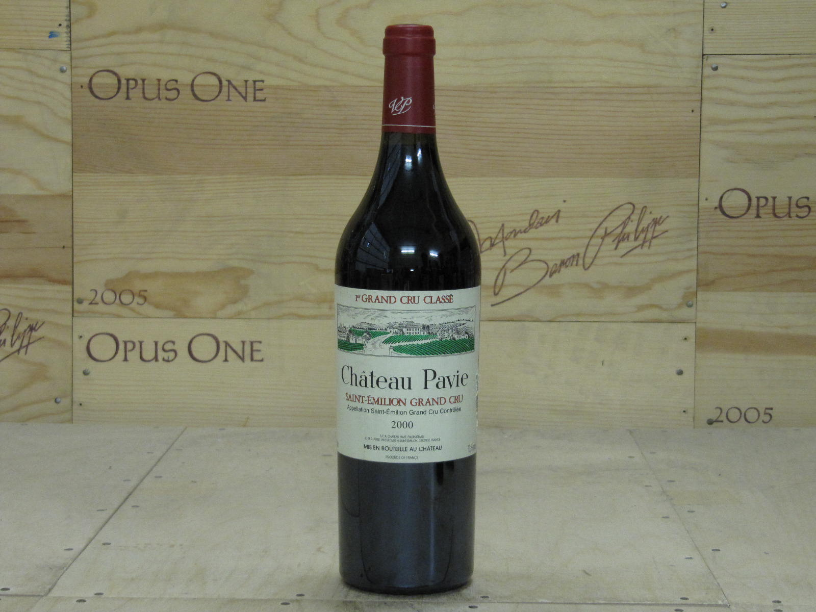 2000 Chateau Pavie Bordeaux, Saint-Emilion RP--100