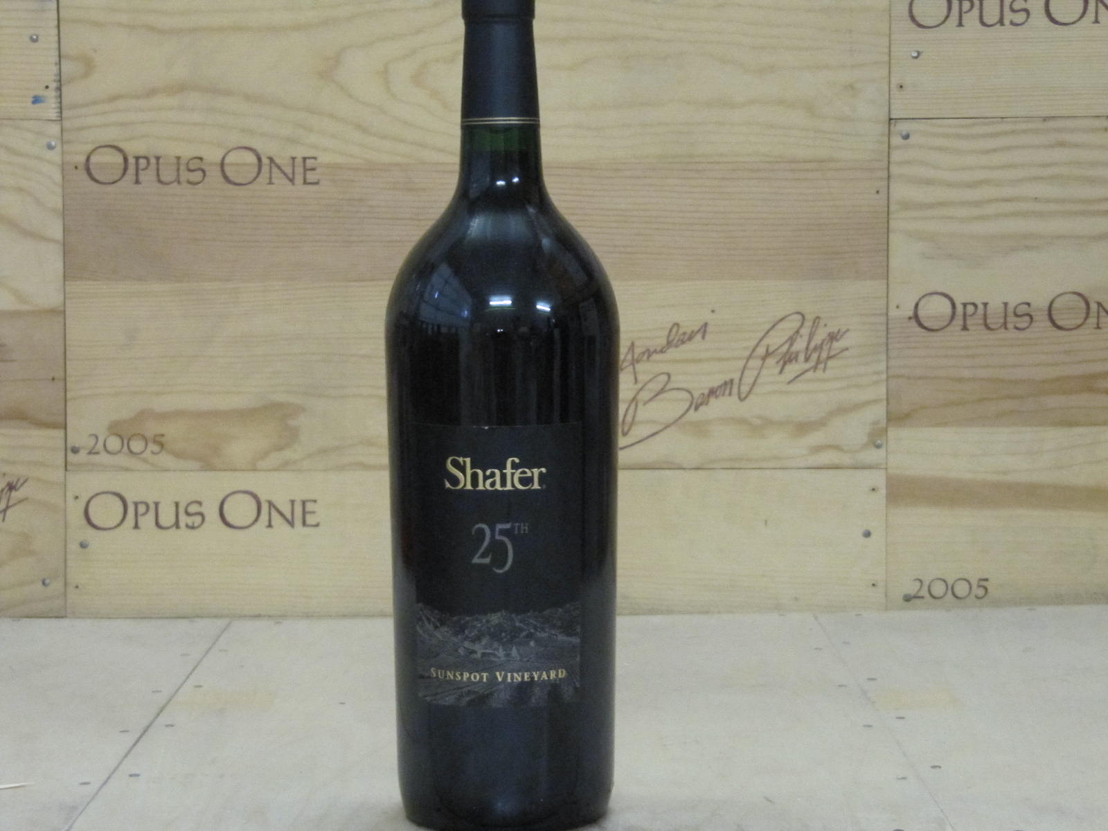 2001 Shafer Cabernet Sauvignon Sunspot 25th Ann 1.5 L, Stags Leap District