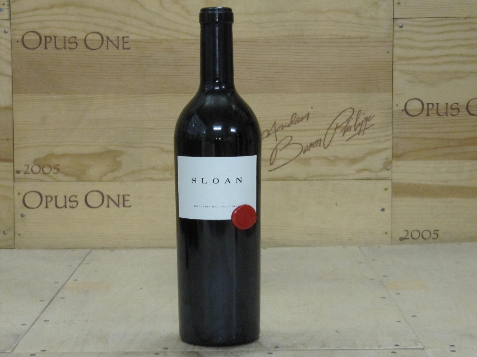 2001 Sloan Proprietary Red Wine, Rutherford RP--99