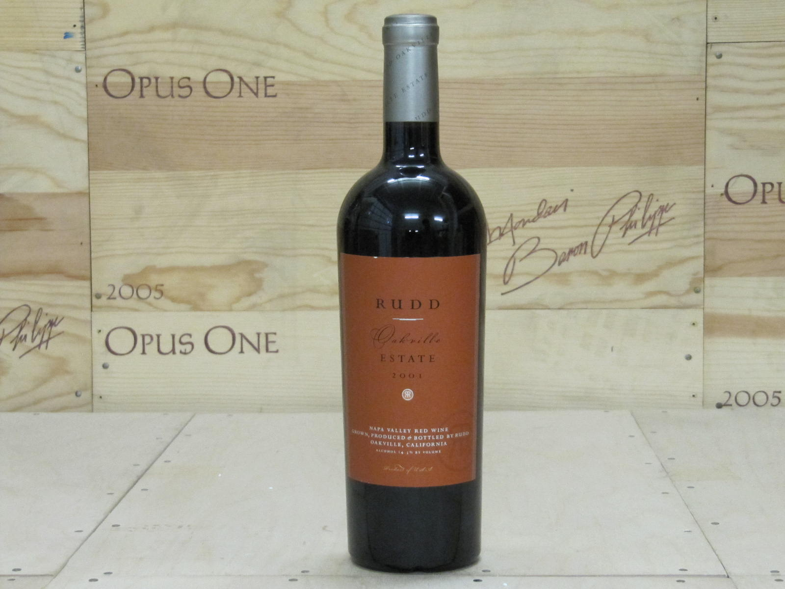 2001 Rudd Oakville Estate Red RP--94