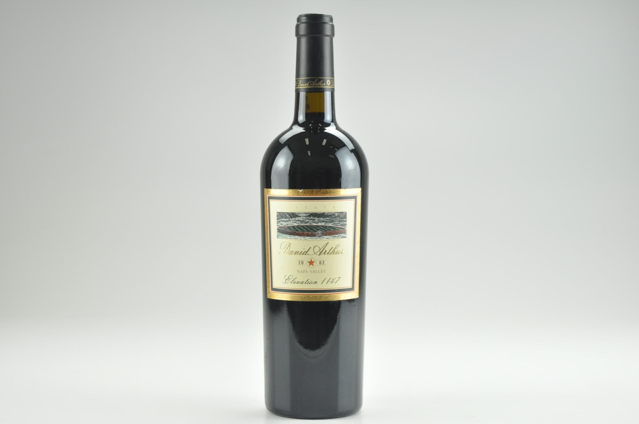 2002 David Arthur Cabernet Sauvignon Elevation 1147, Rutherford RP--95