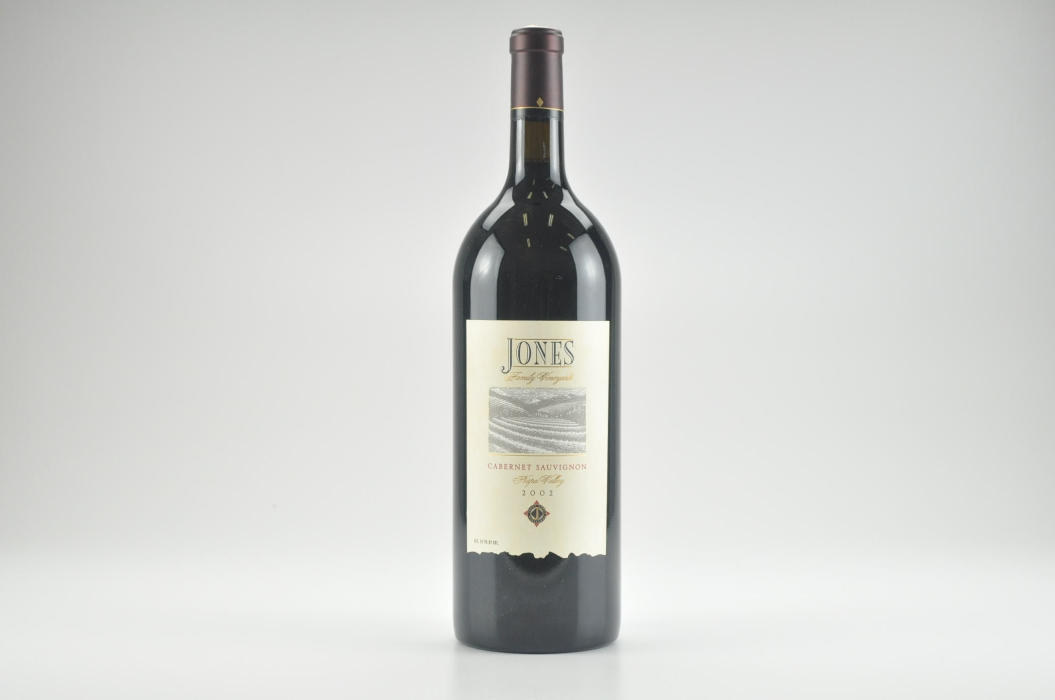 2002 Jones Cabernet Sauvignon 1.5 L, Napa Valley RP--95