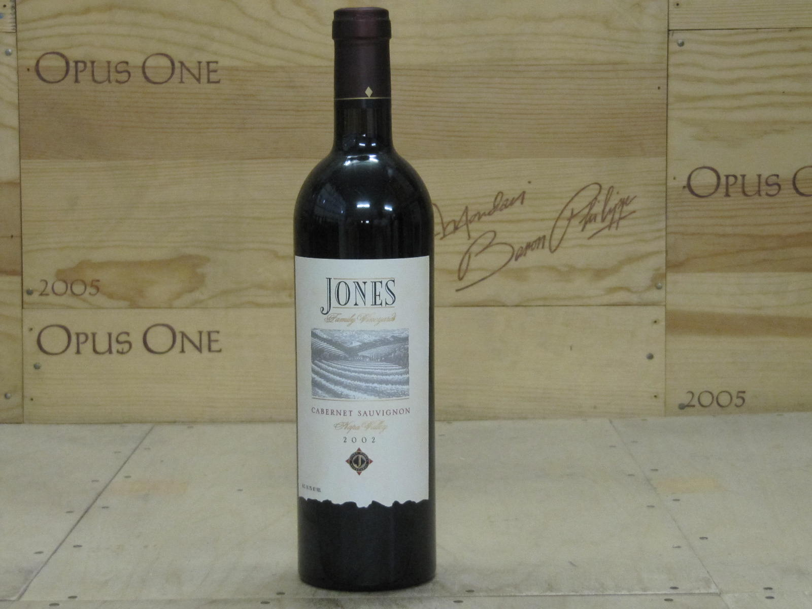 2002 Jones Cabernet Sauvignon, Napa Valley
