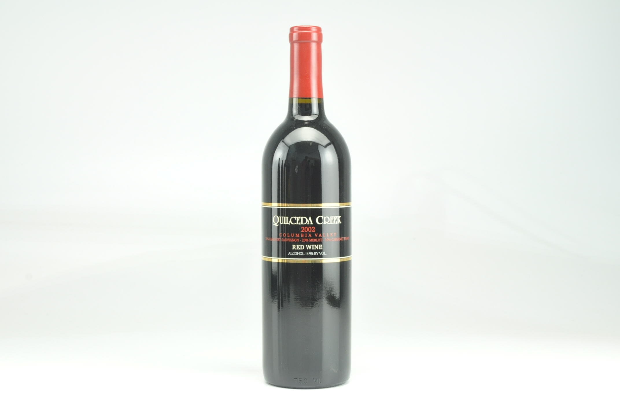 2002 Quilceda Creek Table Red Wine, Columbia Valley RP--89