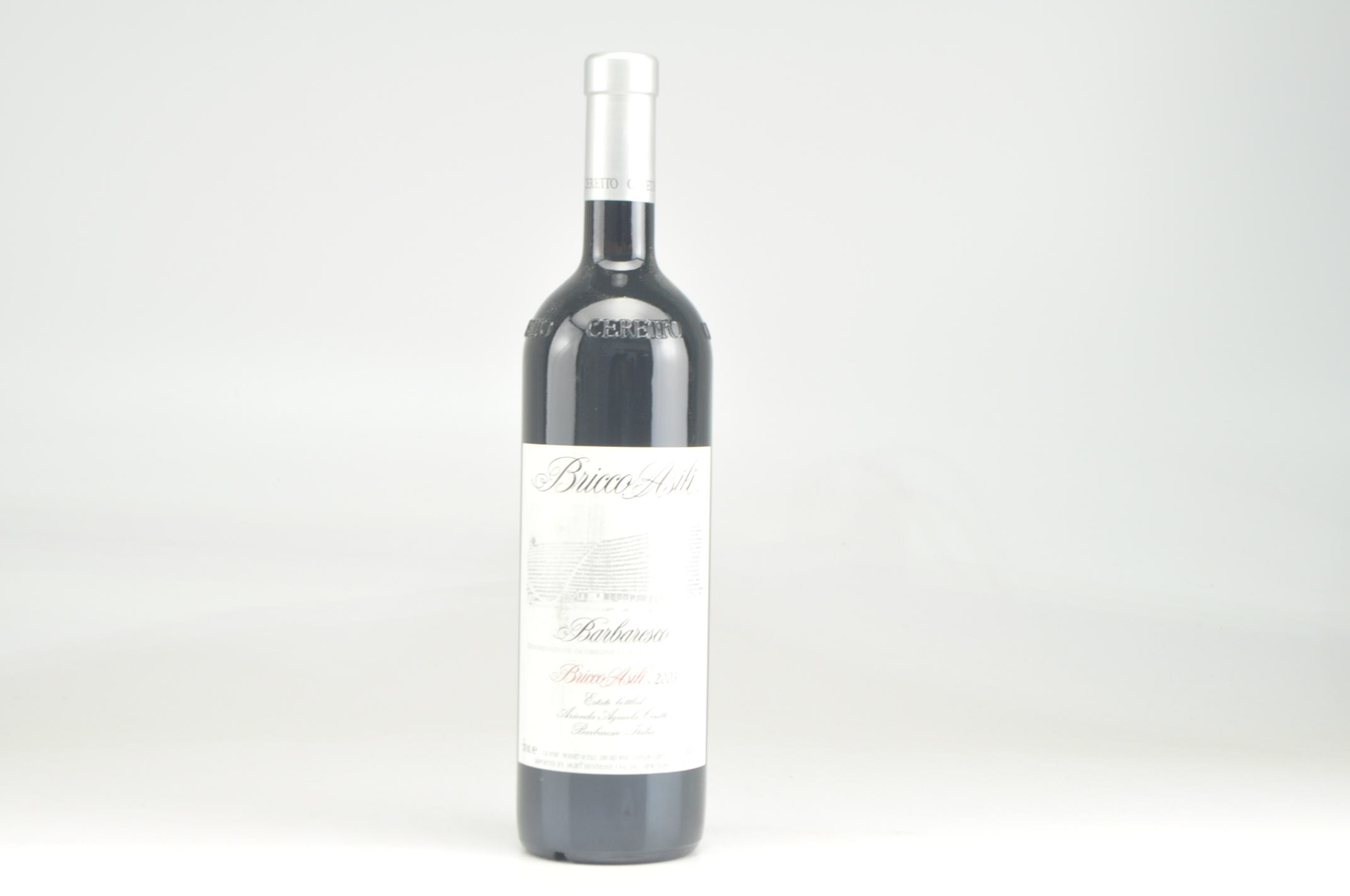 2003 Ceretto Bricco Asili Barbaresco, DOCG RP--89