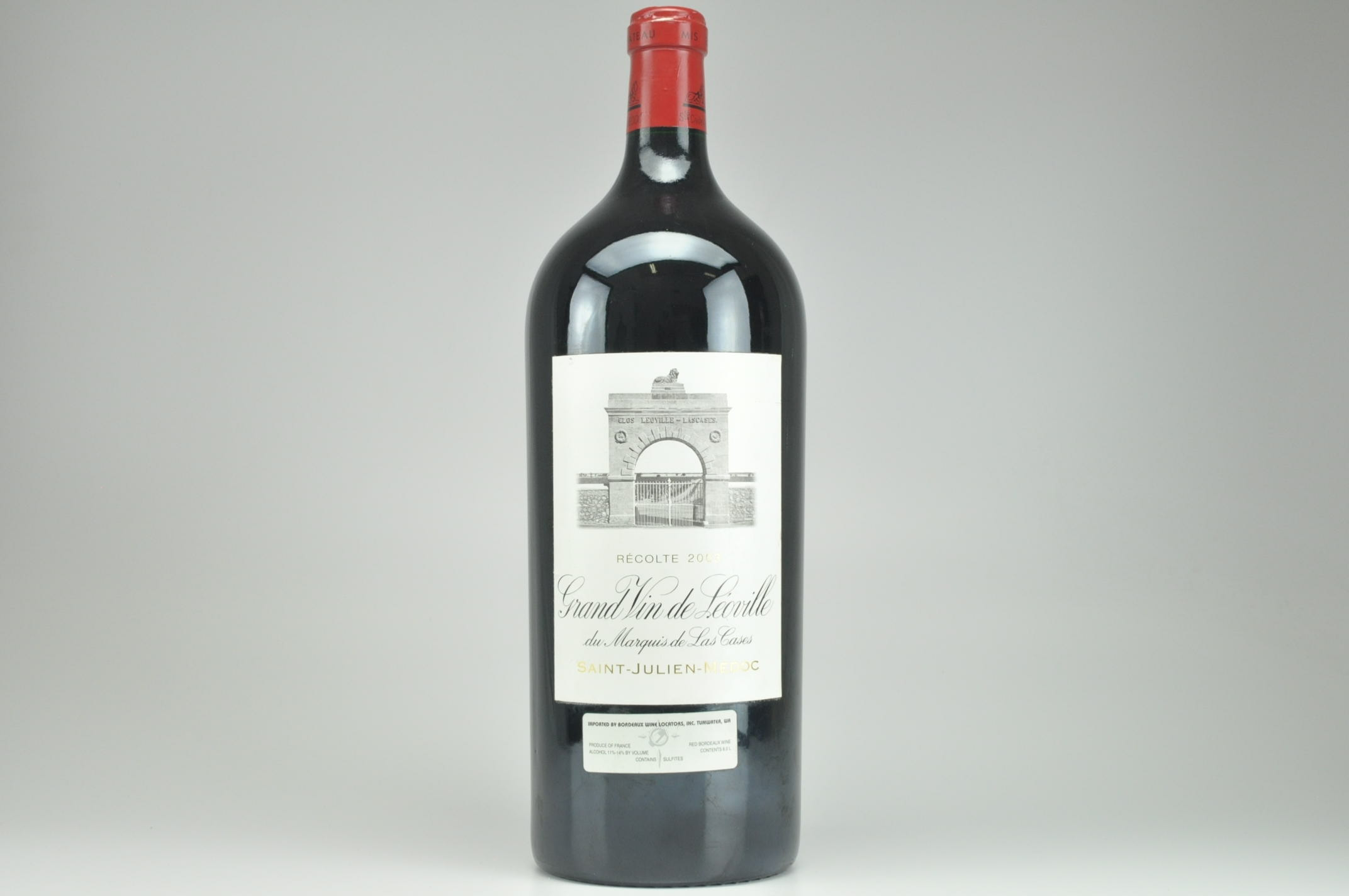 2003 Chateau Leoville-Las Cases Bordeaux, Saint-Julien 6.0 L (Imperial) RP--93 WS--97 WE--94