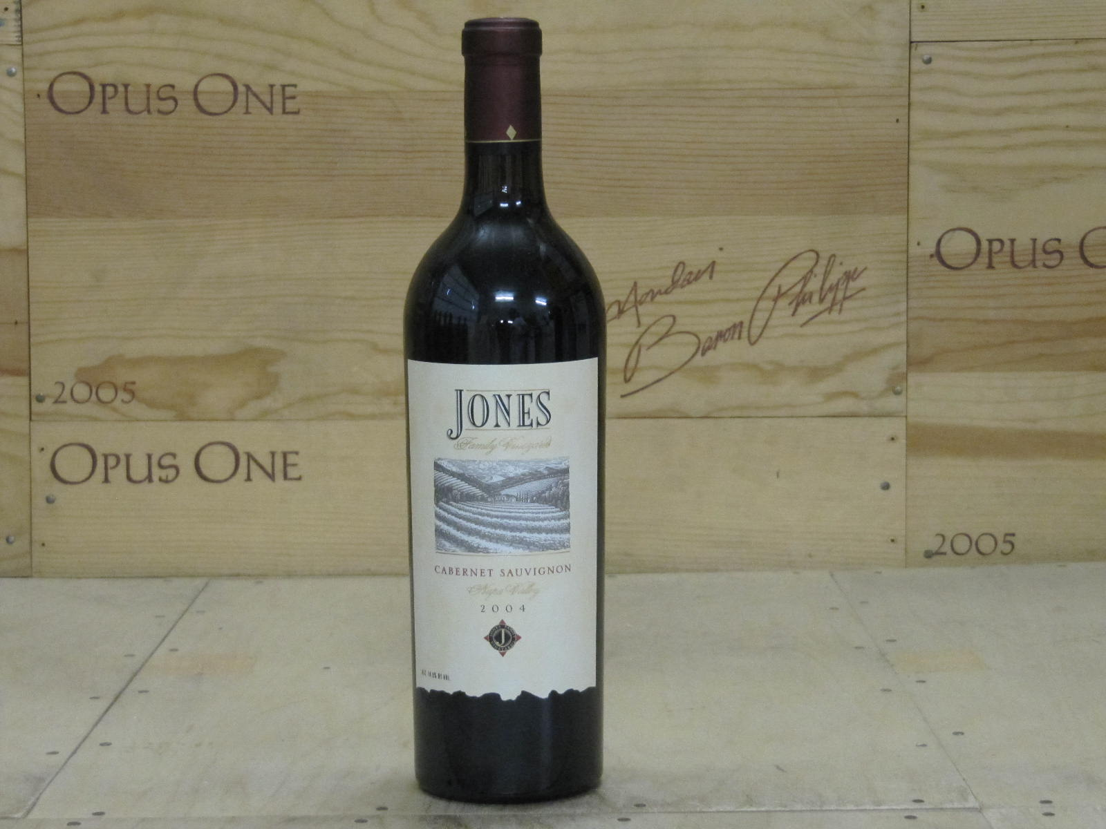 2004 Jones Cabernet Sauvignon, Napa Valley
