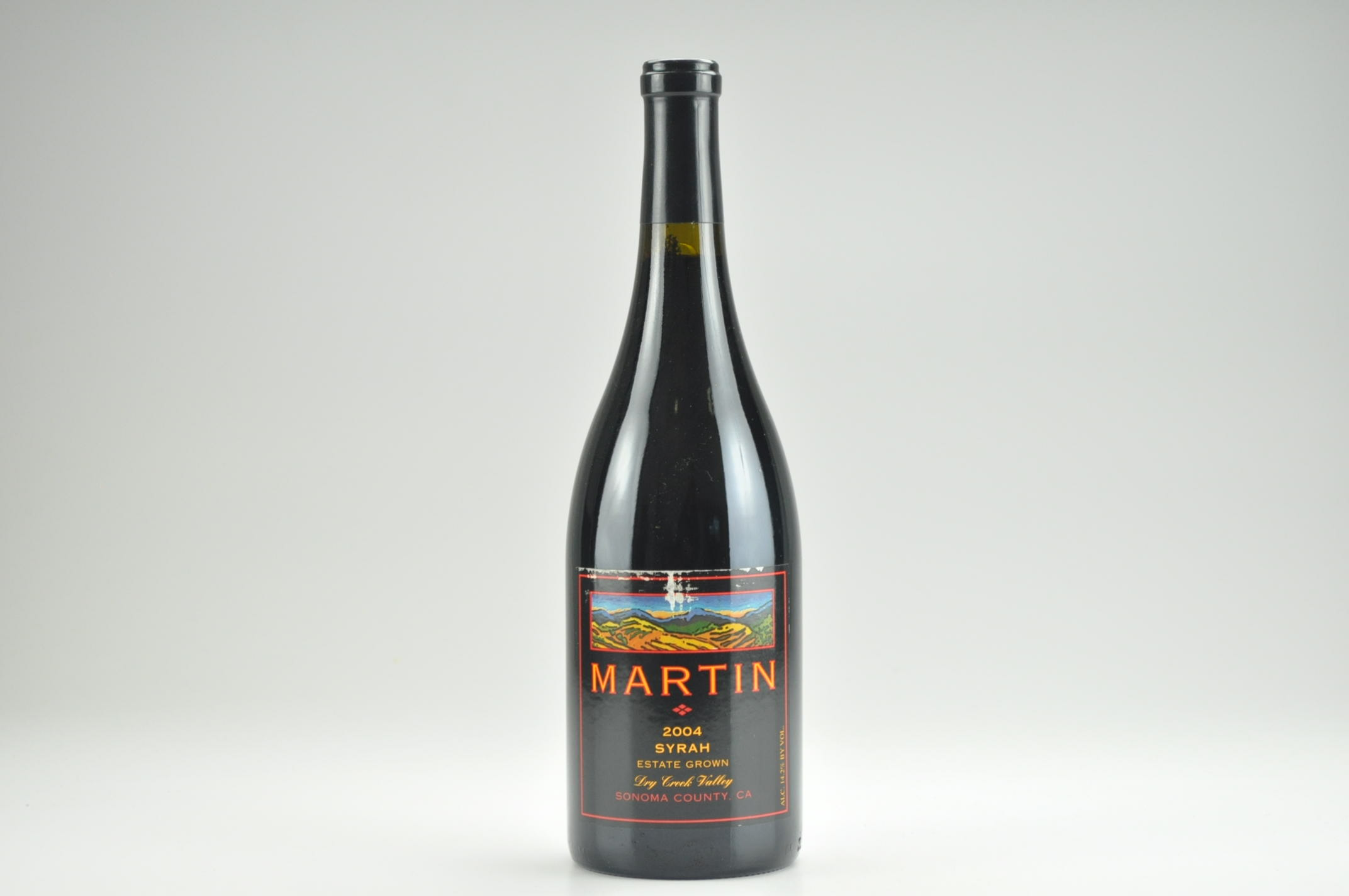 2004 Martin Syrah Estate, Dry Creek Valley