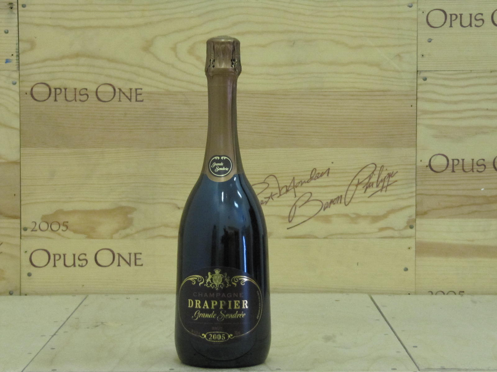 2005 Drappier Grande Sendree Millesime Brut, Champagne WE--93