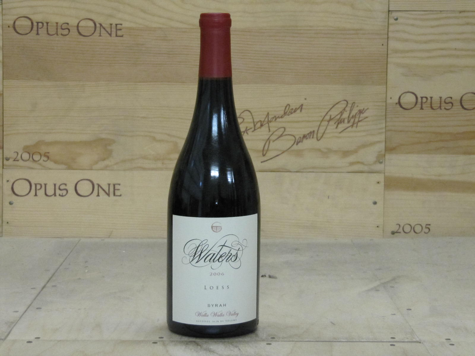 2006 Waters Syrah Loess Vineyard, Walla Walla Valley RP--92