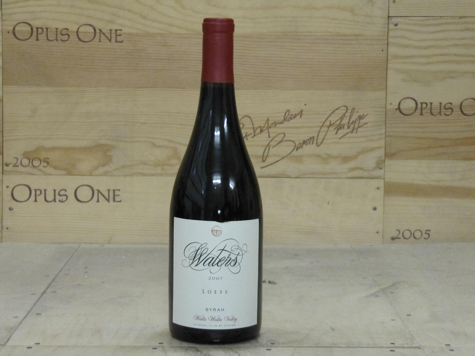 2007 Waters Syrah Loess Vineyard, Walla Walla Valley WS--90