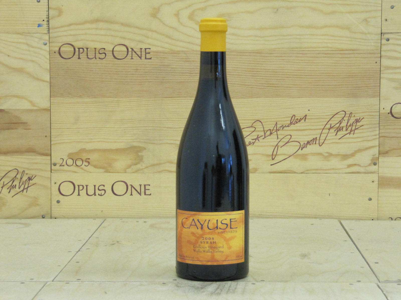 2008 Cayuse Syrah Cailloux Vineyard, Walla Walla Valley RP--97
