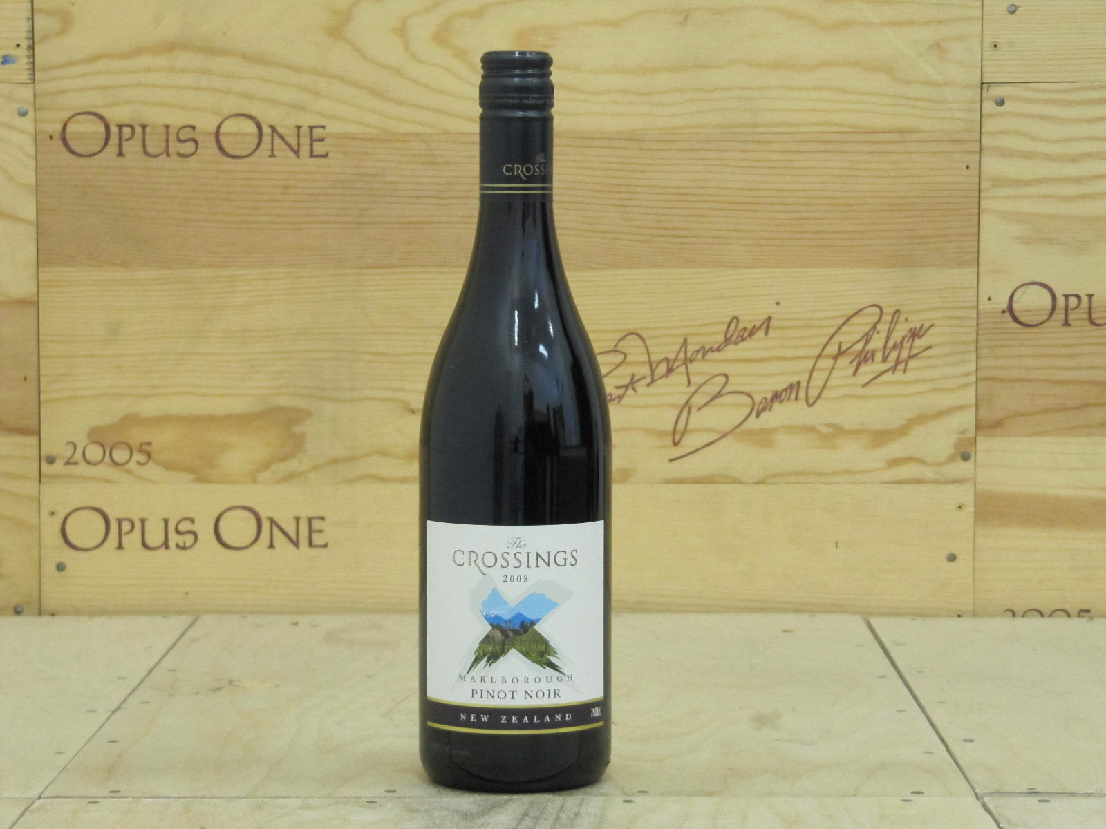 2008 The Crossings Pinot Noir, Awatere Valley
