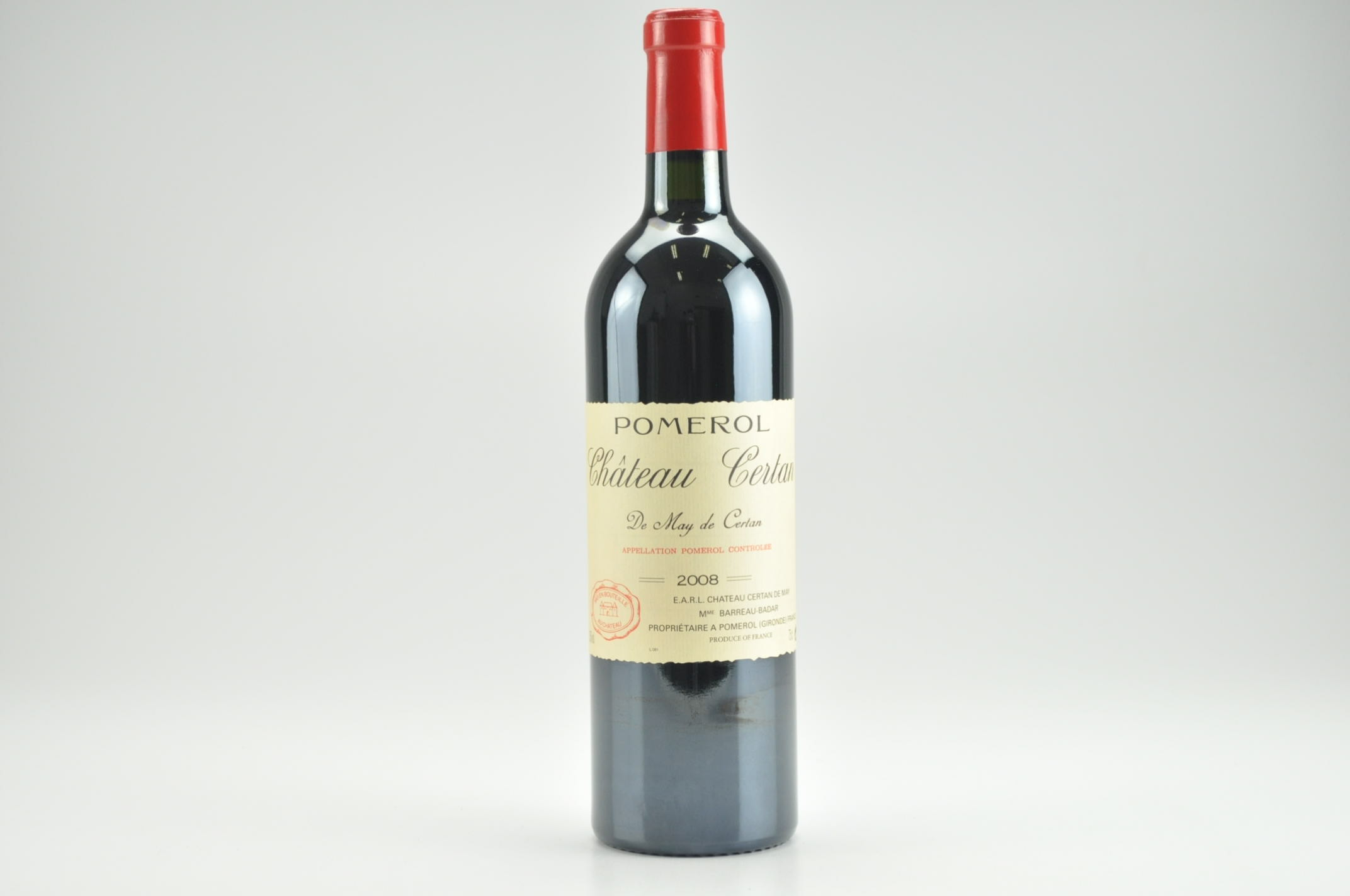 2008 Chateau Certan de May Bordeaux, Pomerol