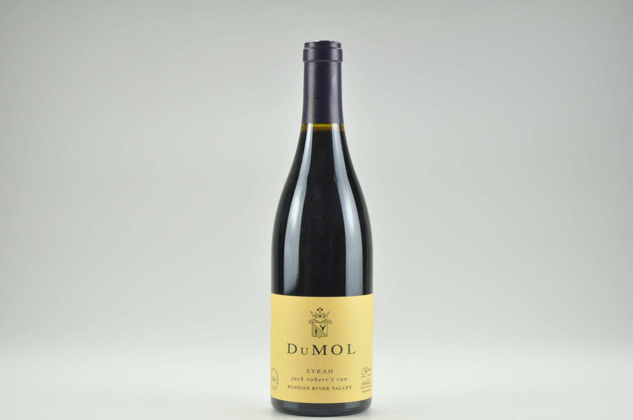 2008 DuMOL Syrah Jack Robert's Run, Russian River Valley RP--93