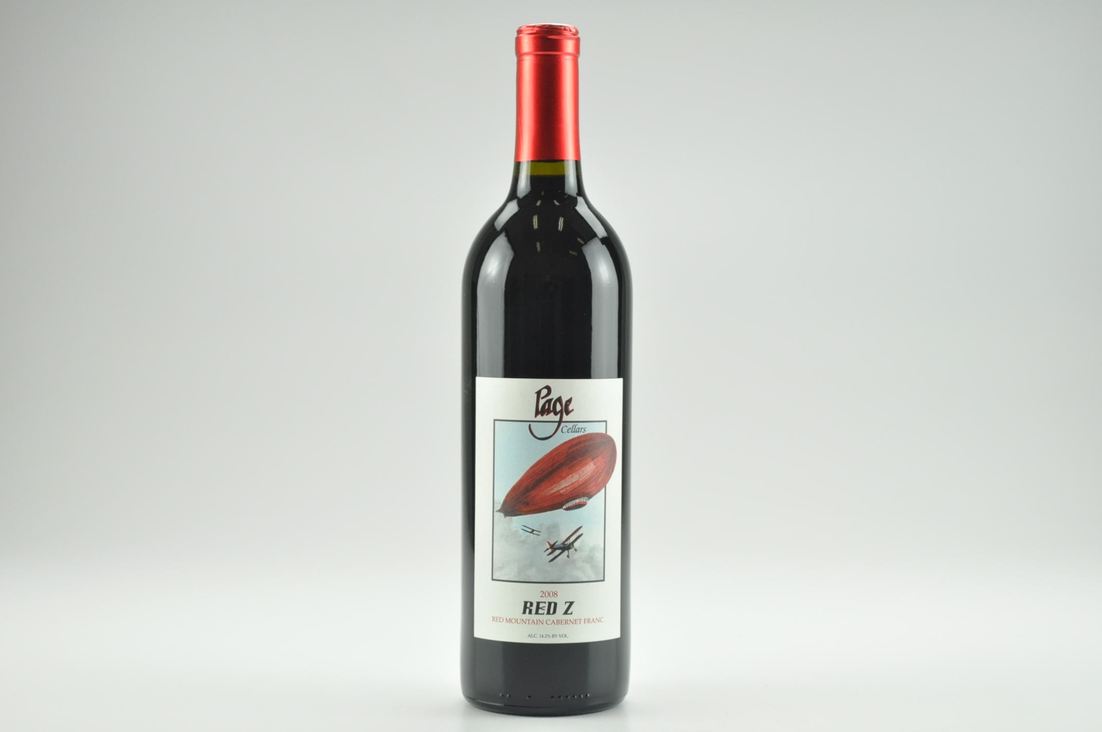 2008 Page Cellars Red Z, Red Mountain