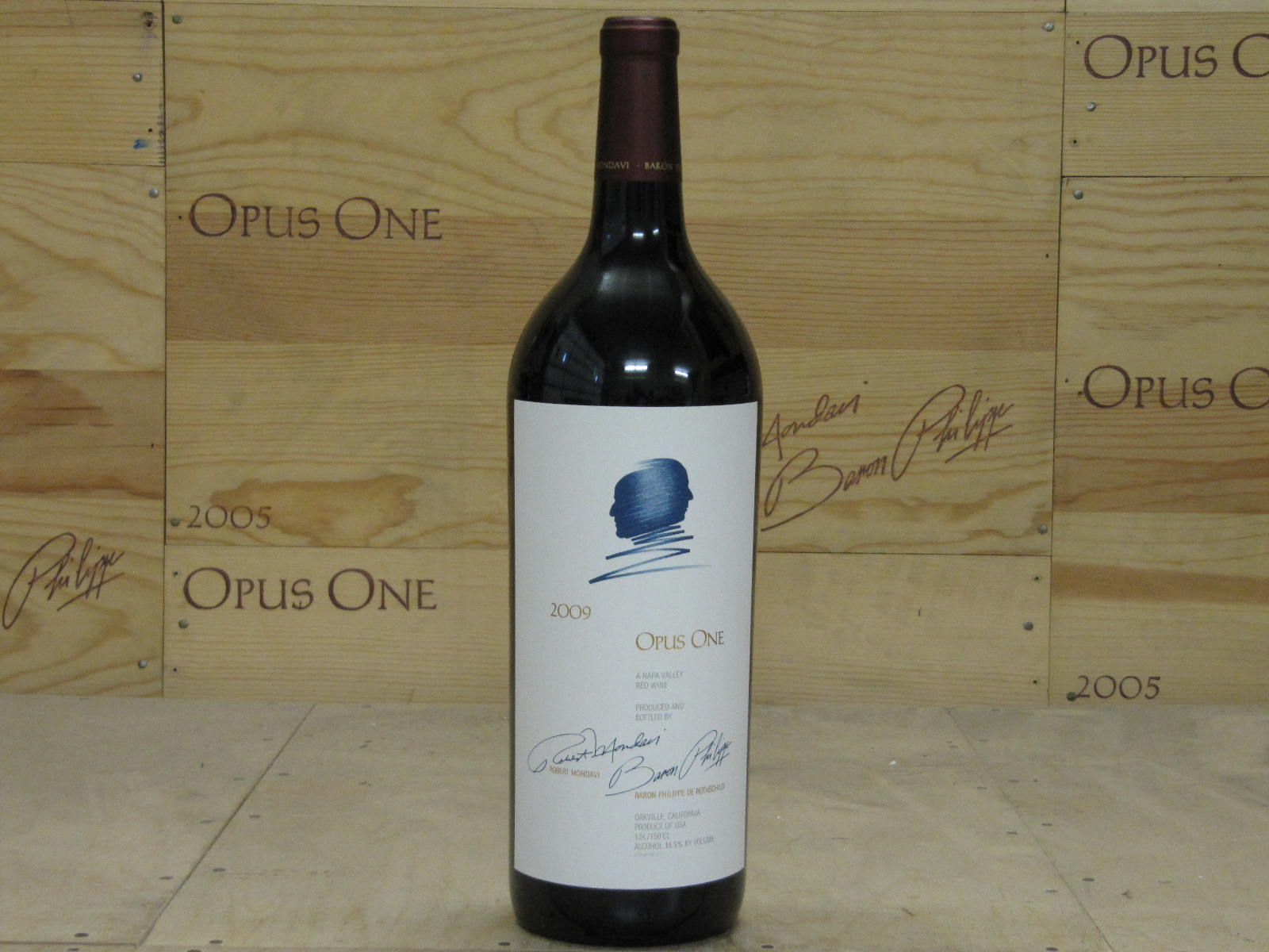 2009 Opus One 1.5 L, Napa Valley RP--94 AG--94