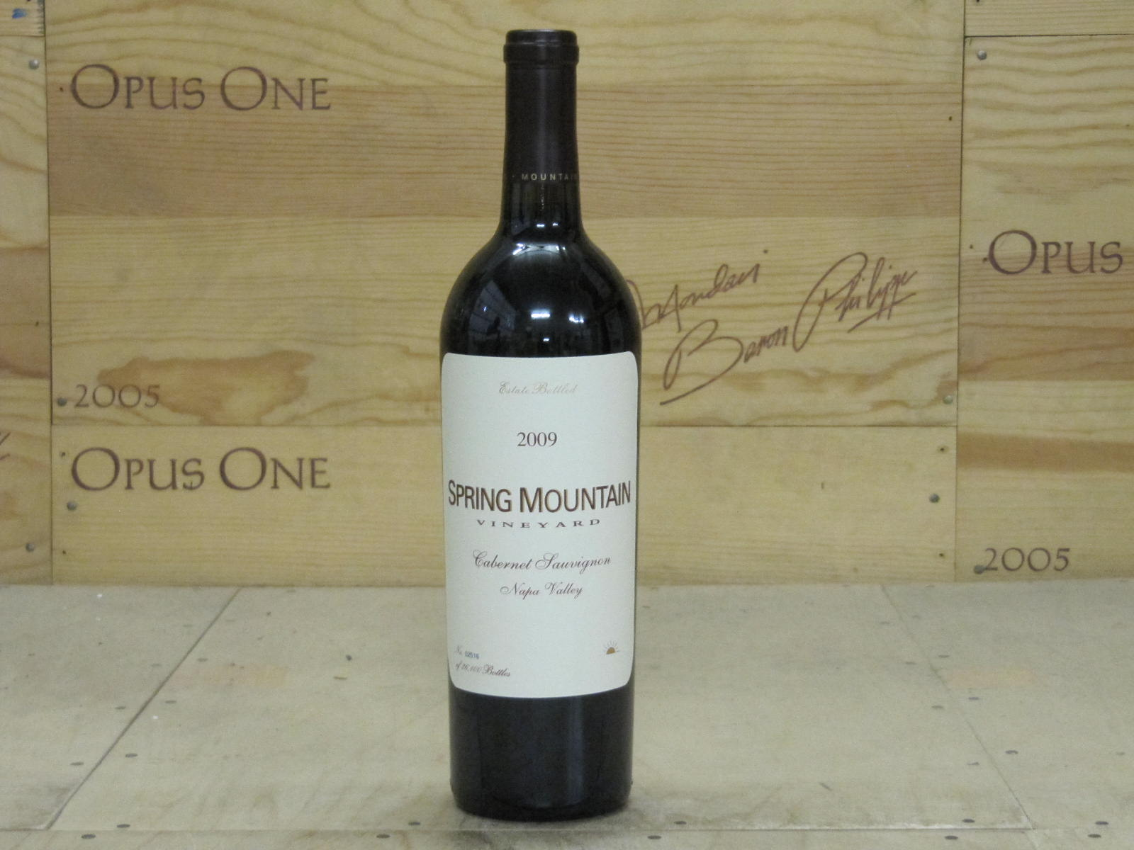 2009 Spring Mountain Vineyard Cabernet Sauvignon, Napa Valley WE--92