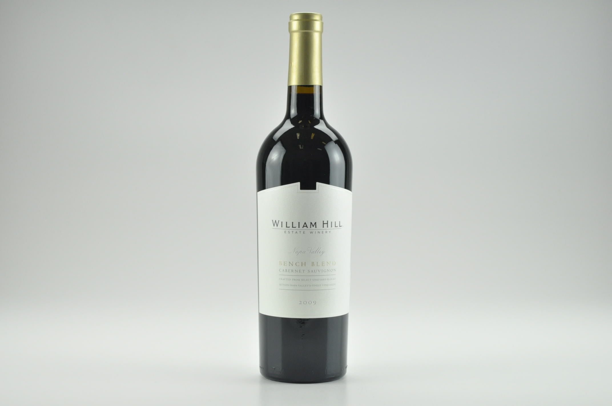 2009 William Hill Bench Blend Cabernet Sauvignon AG--92