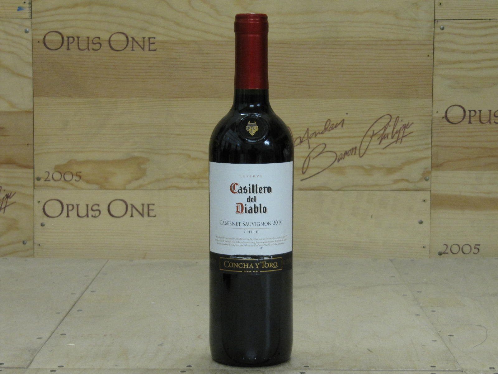 2010 Casillero Del Diablo, Rapel Valley