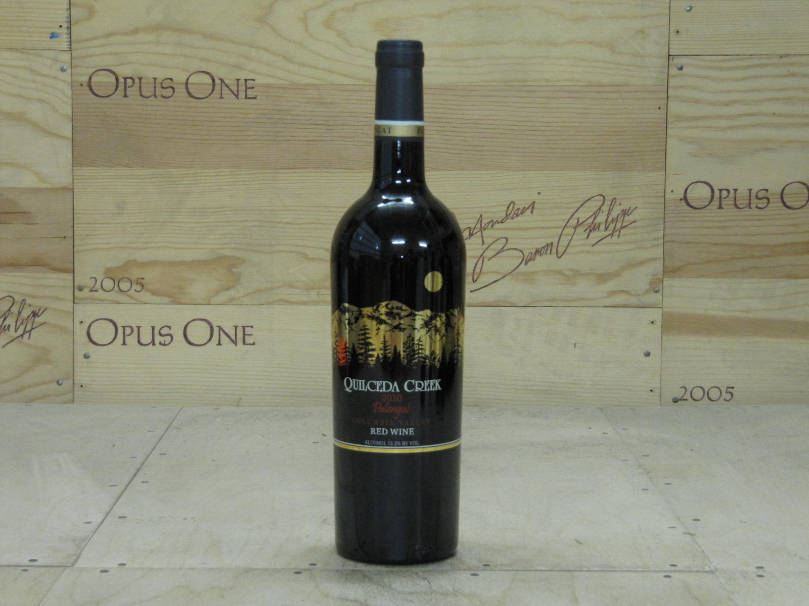 2010 Quilceda Creek Palengat Vineyard, Horse Heaven Hills RP--97