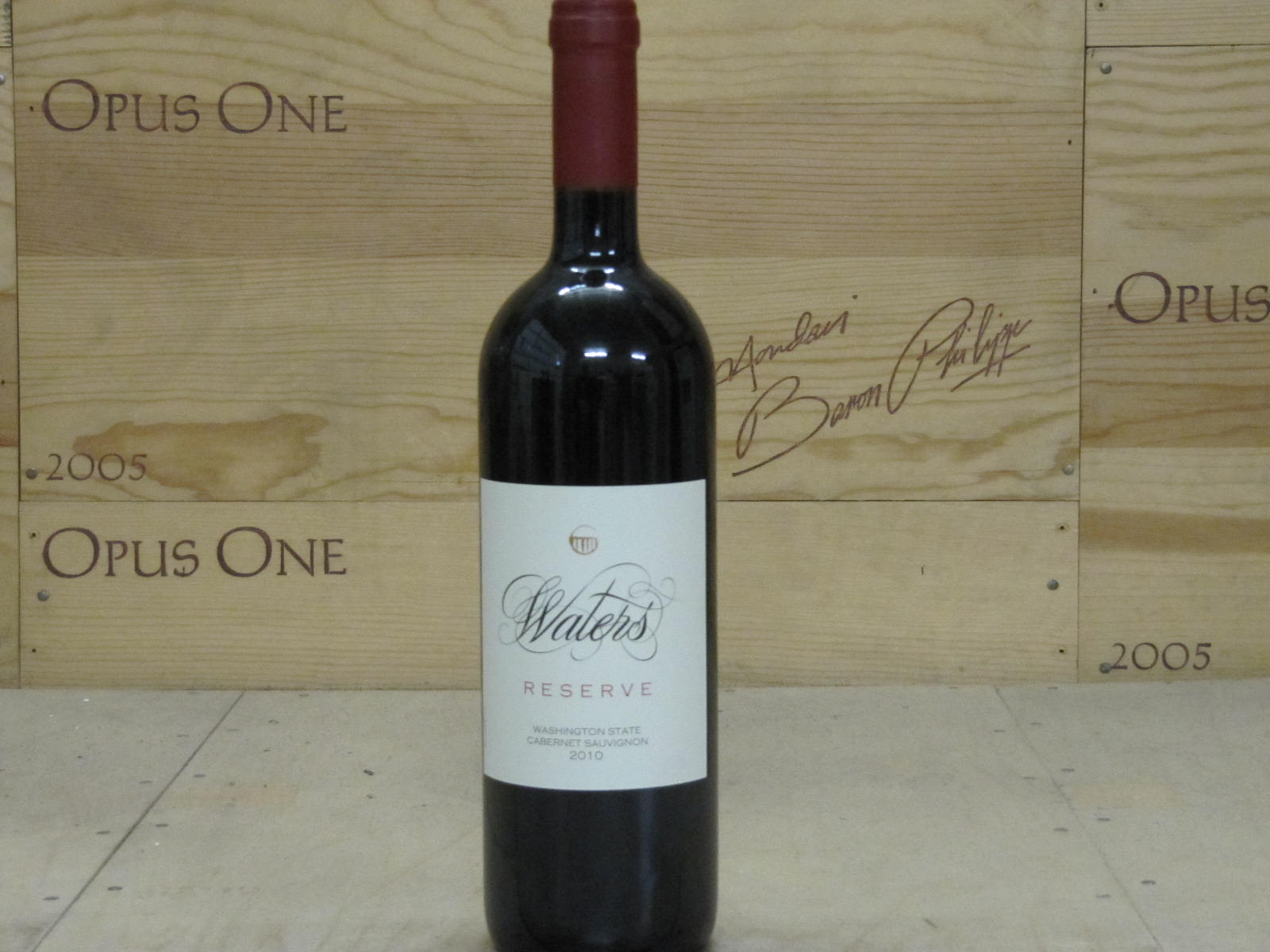 2010 Waters Cabernet Sauvignon Reserve, Walla Walla Valley RP--93