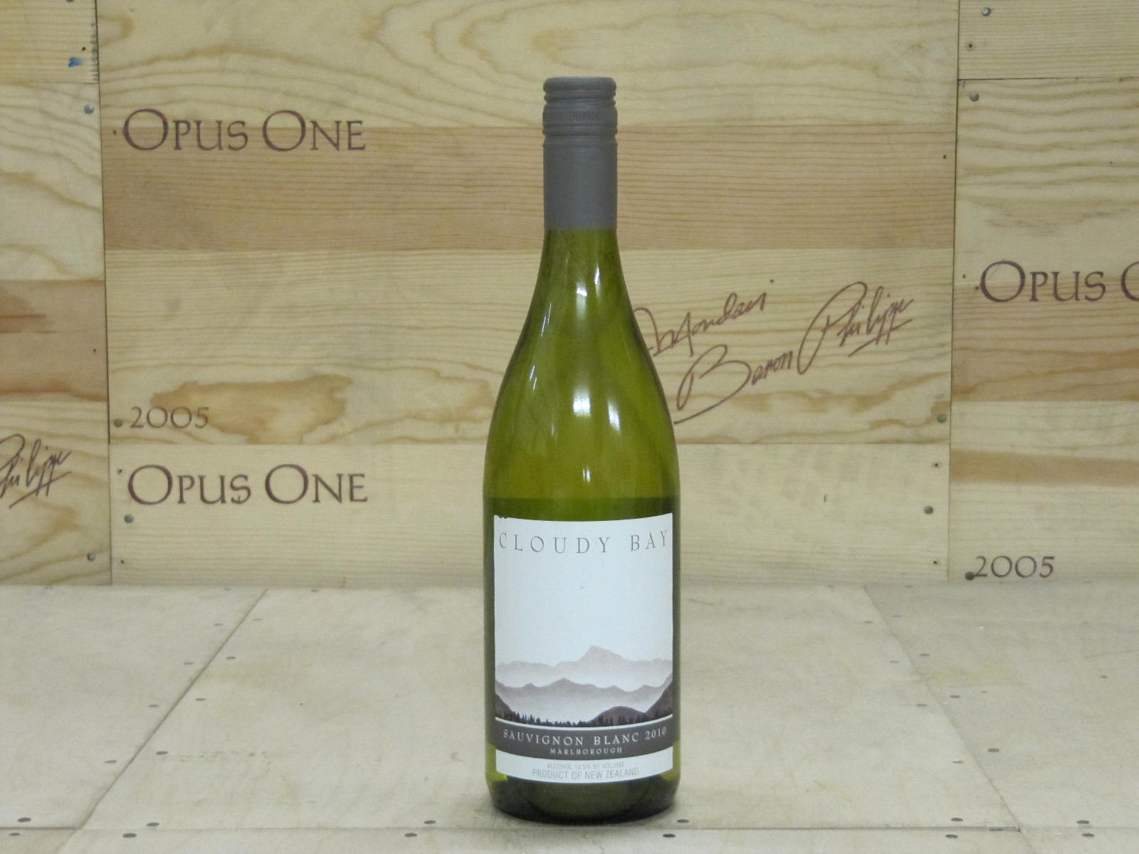 2010 Cloudy Bay Sauvignon Blanc Marlborough WS--92