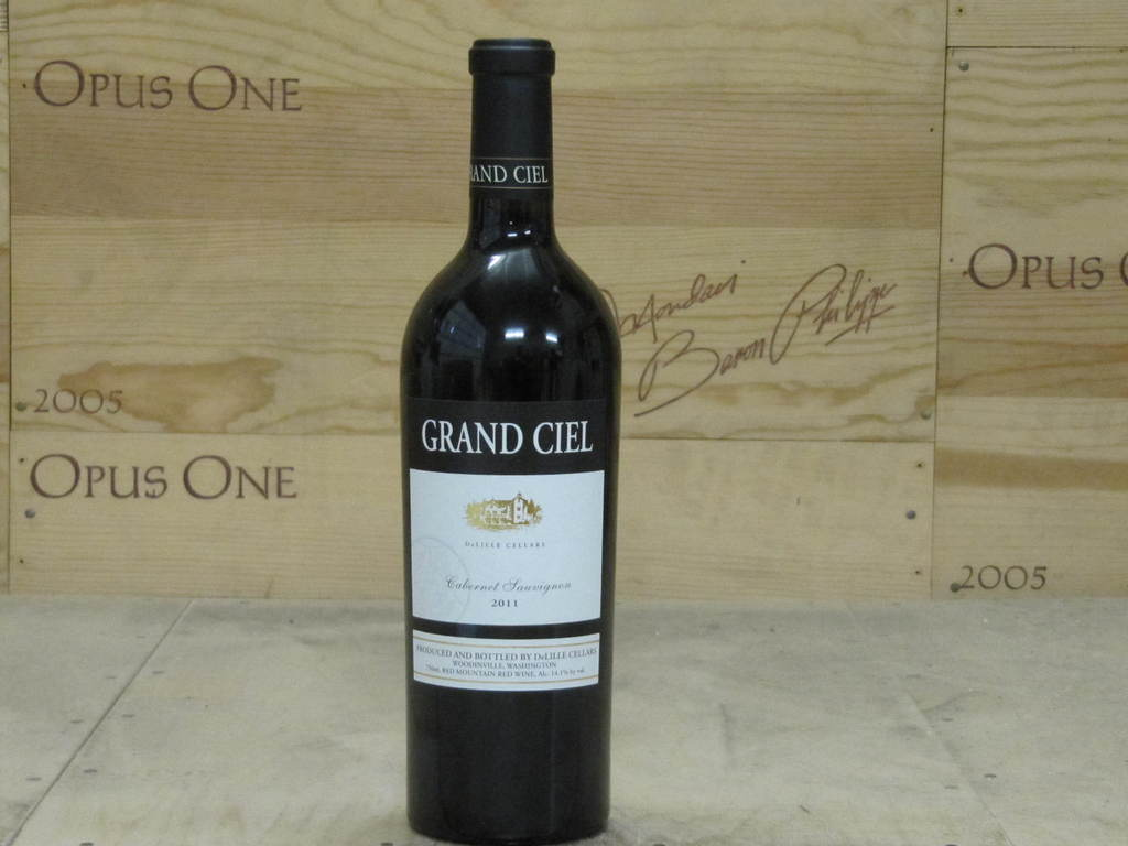 2012 Delille Cellars Cabernet Sauvignon Grand Ciel, Red Mountain RP--96