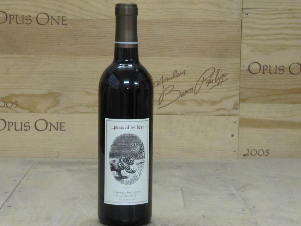 2011 Dunham Pursued By Bear Cabernet Sauvignon, Columbia Valley WE--92
