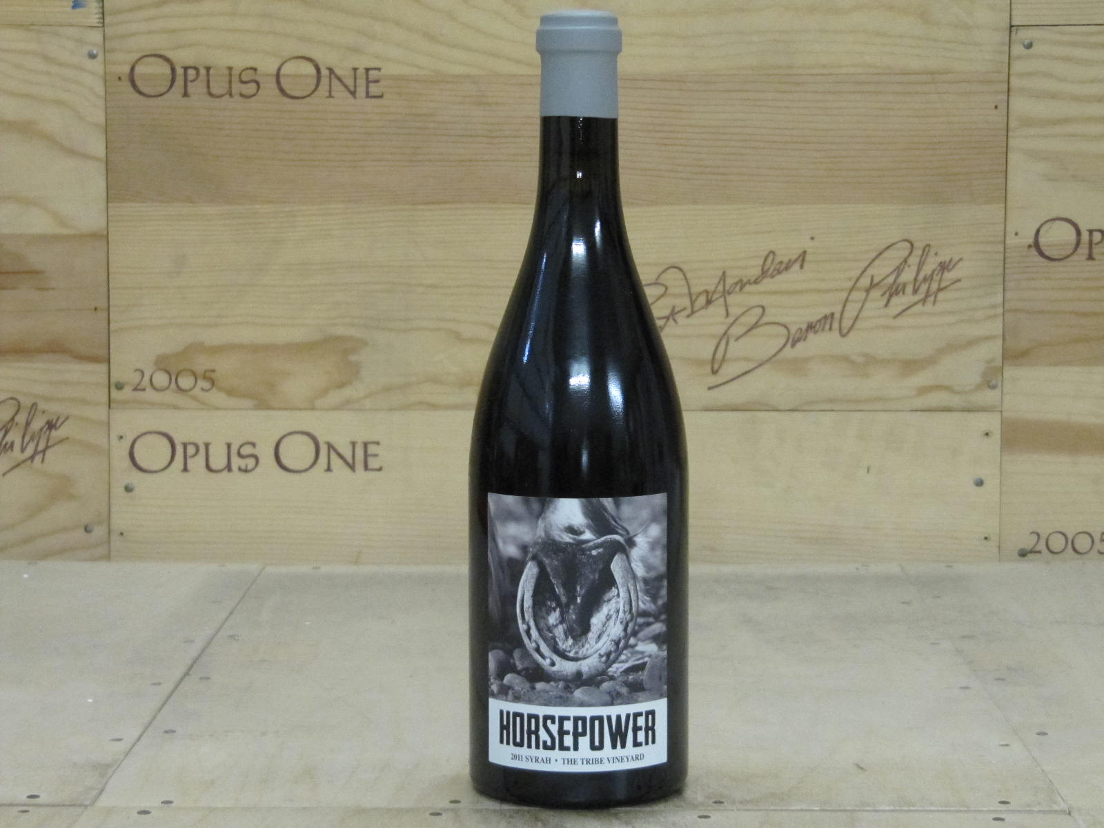 2011 Horsepower Syrah The Tribe Vineyard, Walla Walla Valley RP--95--98