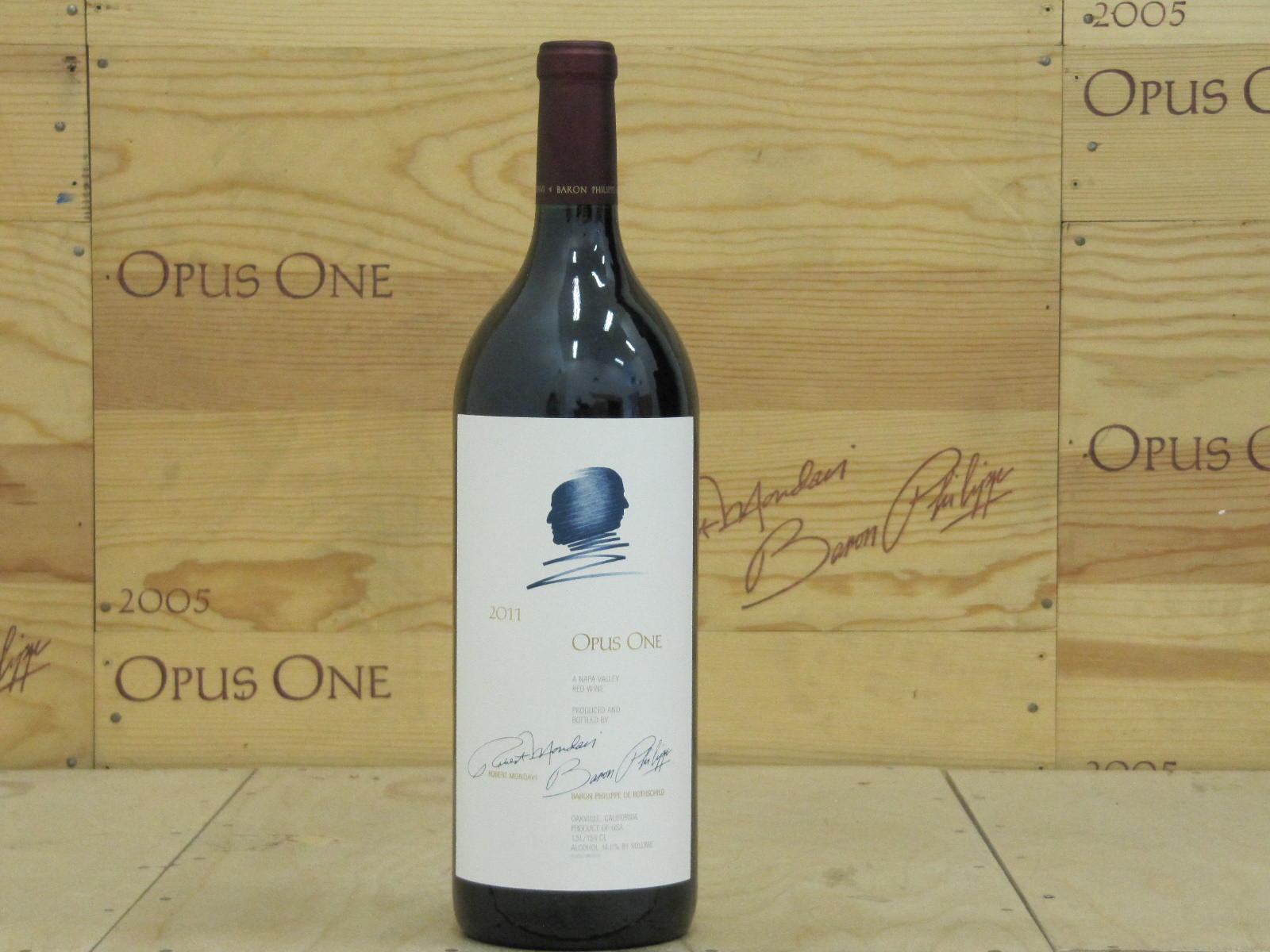 2011 Opus One 1.5 L, Napa Valley AG--92