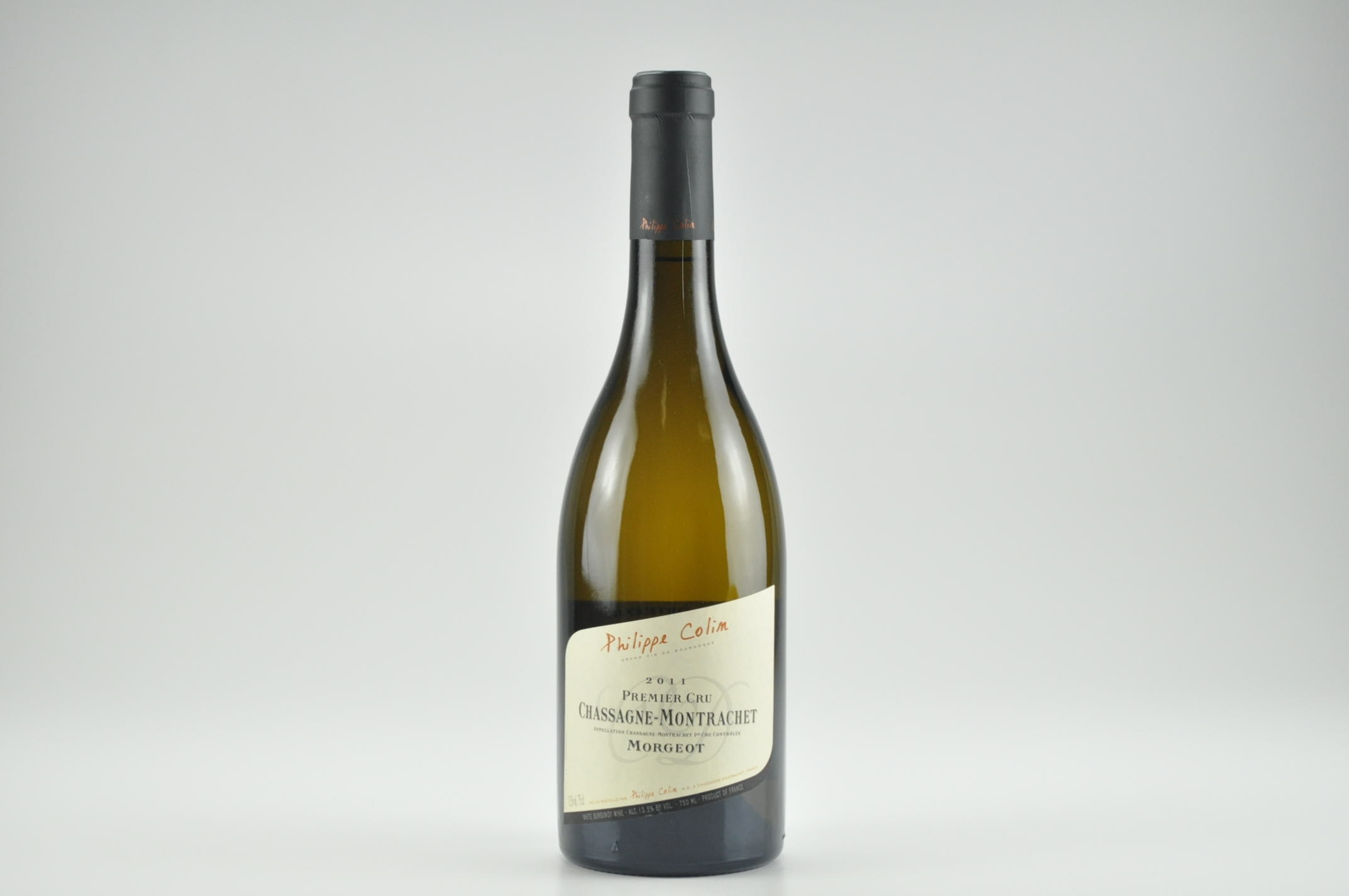 2011 Philippe Colin Morgeot Chassagne-Montrachet WS--92