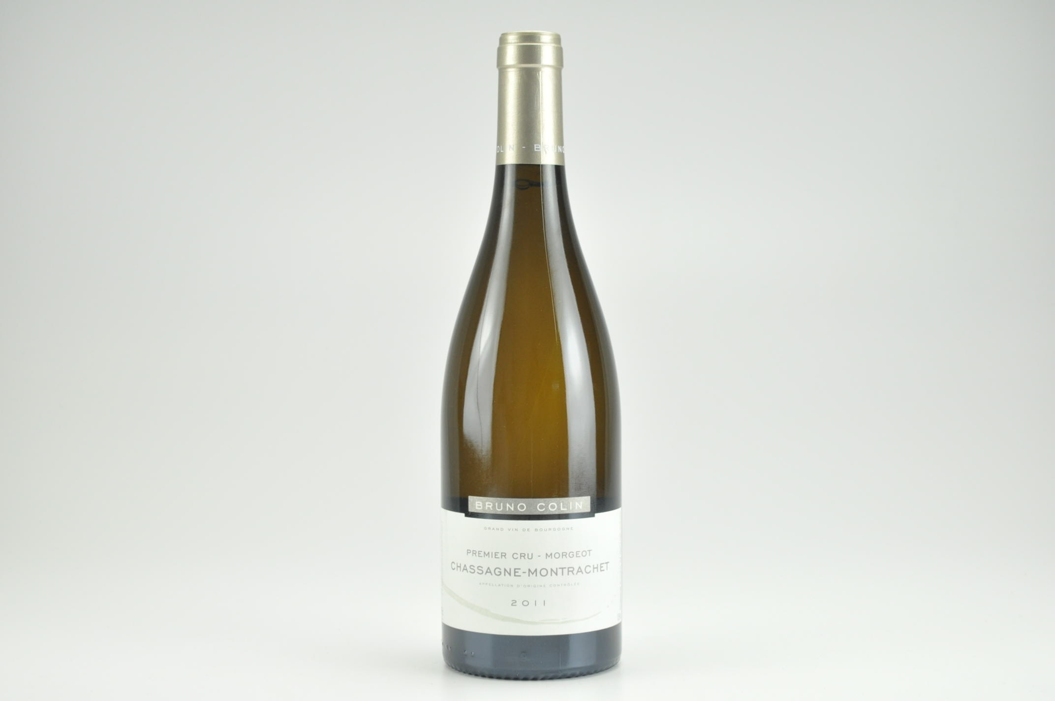 2011 Bruno Colin Morgeot Chassagne-Montrachet, Cote De Beaune WS--92 AG--91