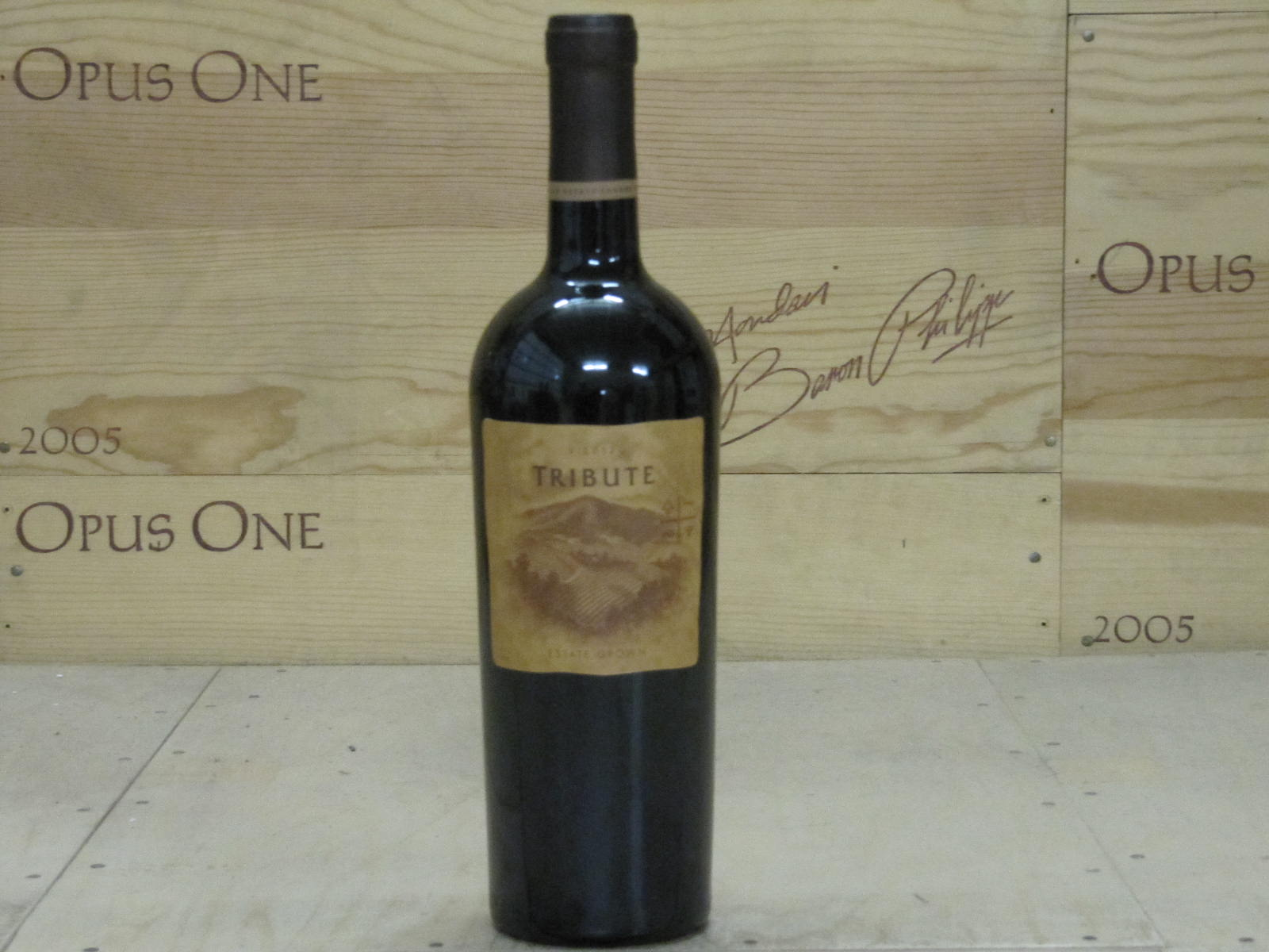 2012 Benziger Family Winery Tribute Estate Red, Sonoma Mountain