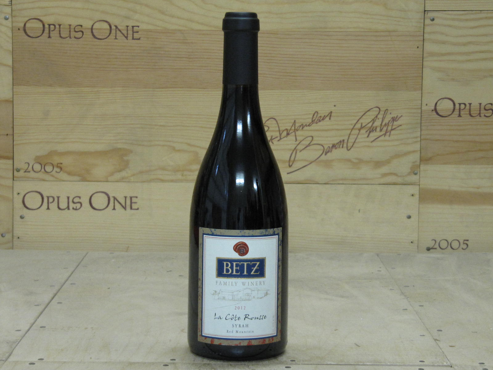 2012 Betz Family Winery Syrah la Cote Rousse, Columbia Valley RP--95