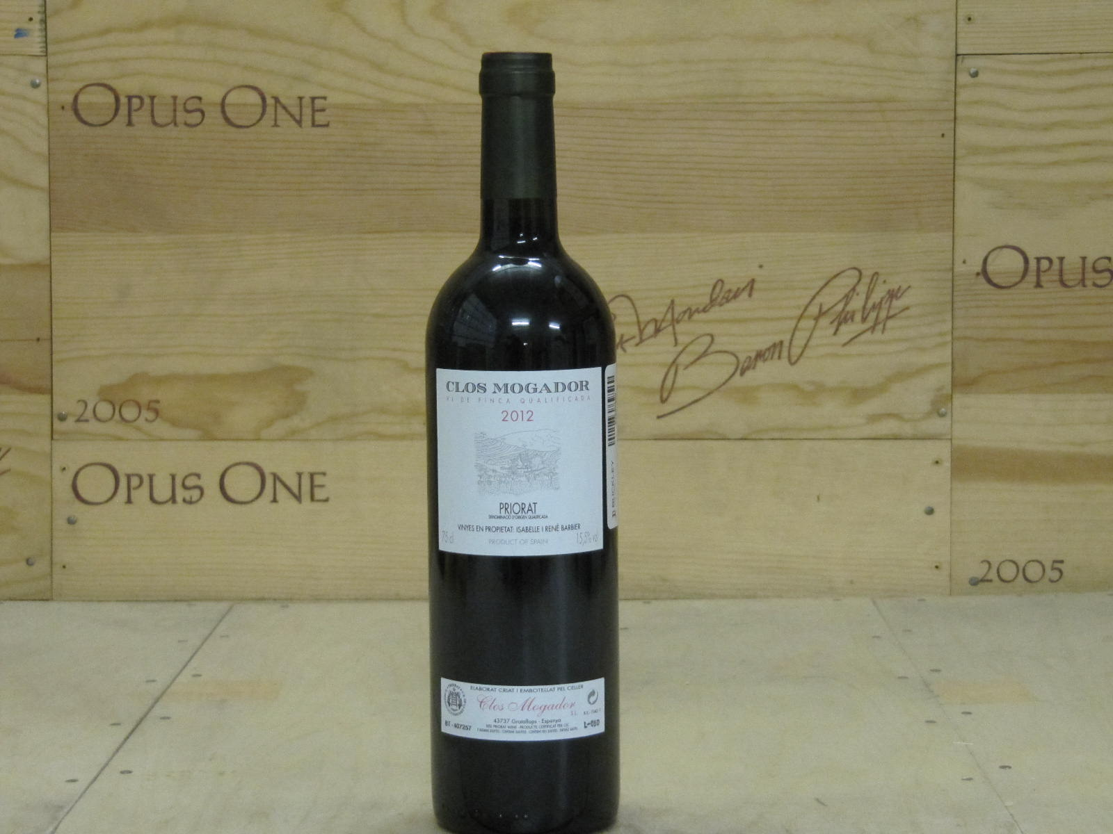 2011 Clos Mogador Proprietary Red Blend, Priorat RP--96