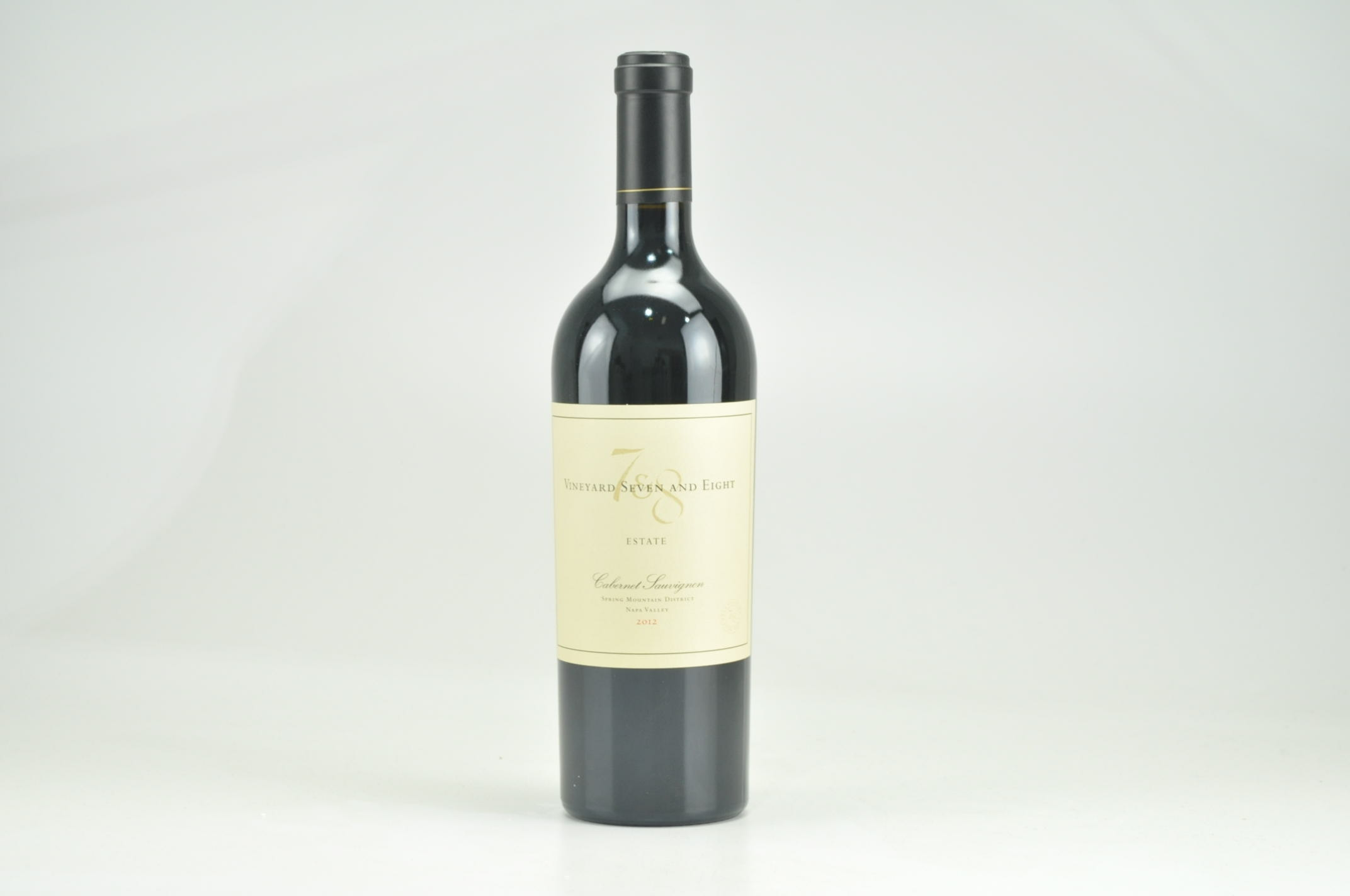 2012 Vineyard Seven and Eight Estate Cabernet Sauvignon RP--92--94