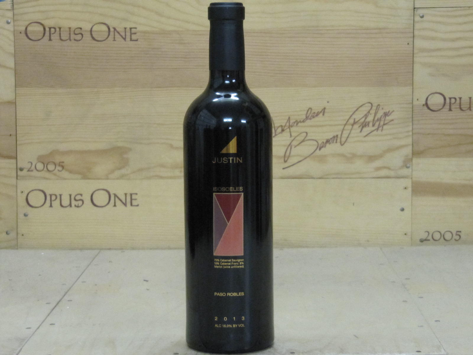 2013 Justin Vineyards Isosceles, Paso Robles