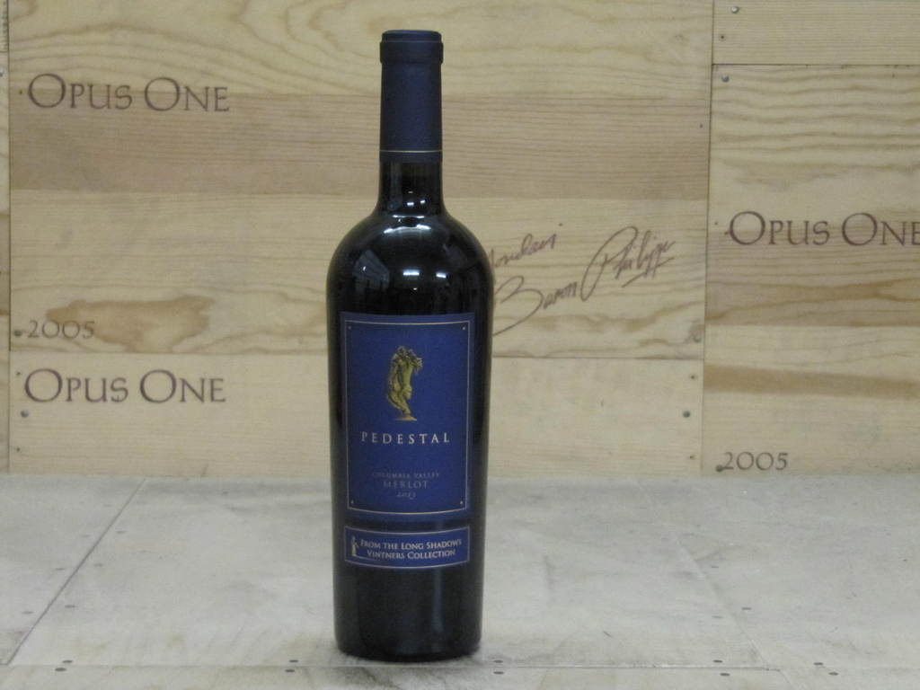 2012 Long Shadows Pedestal Merlot, Columbia Valley RP--95